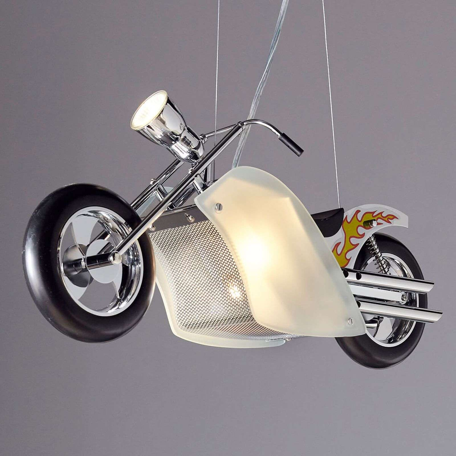 Exceptionnelle suspension Harley