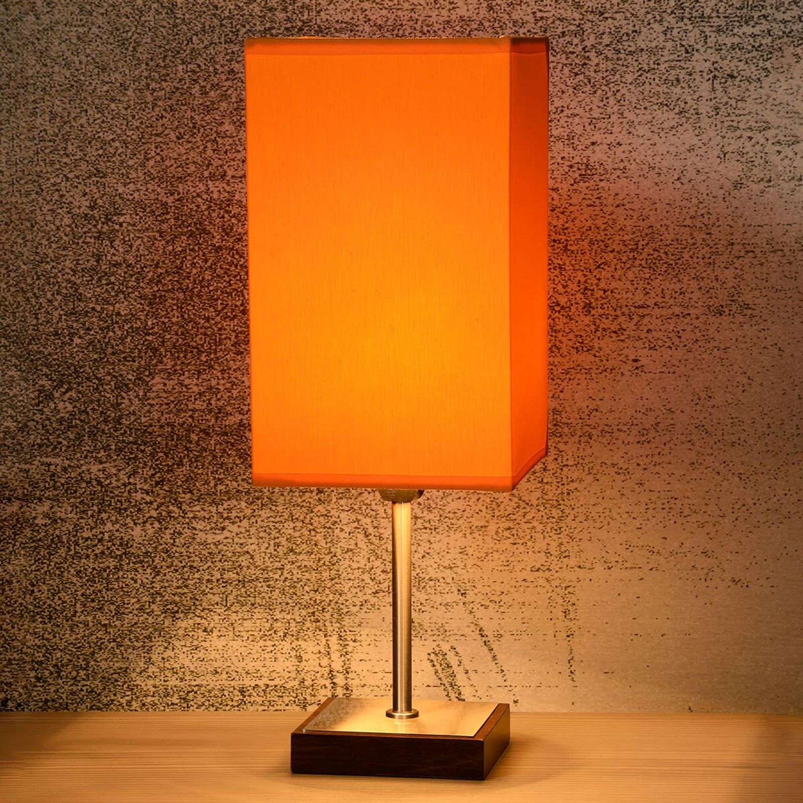 Lampe à poser Duna Touch orange