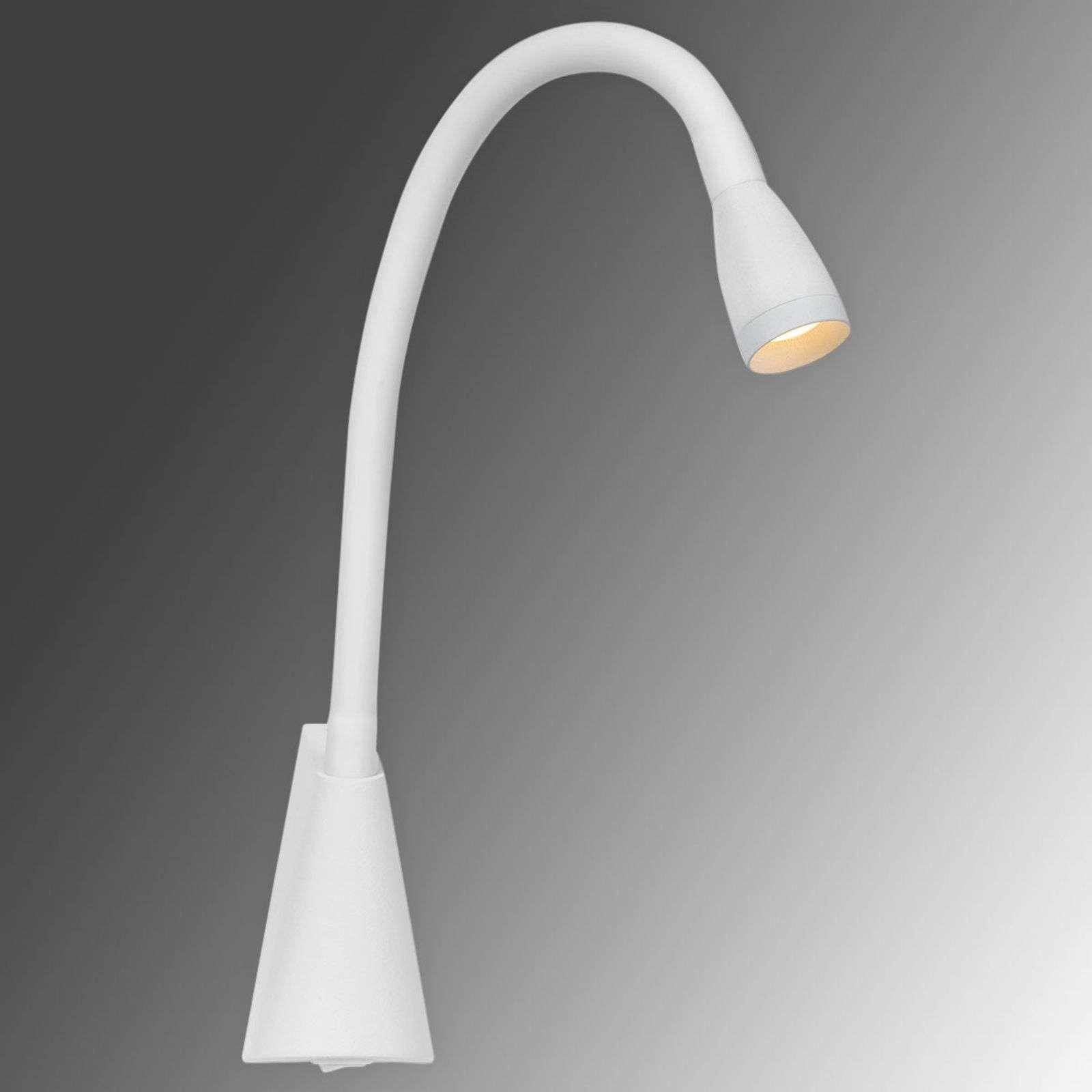 Applique LED flexible Galen en blanc