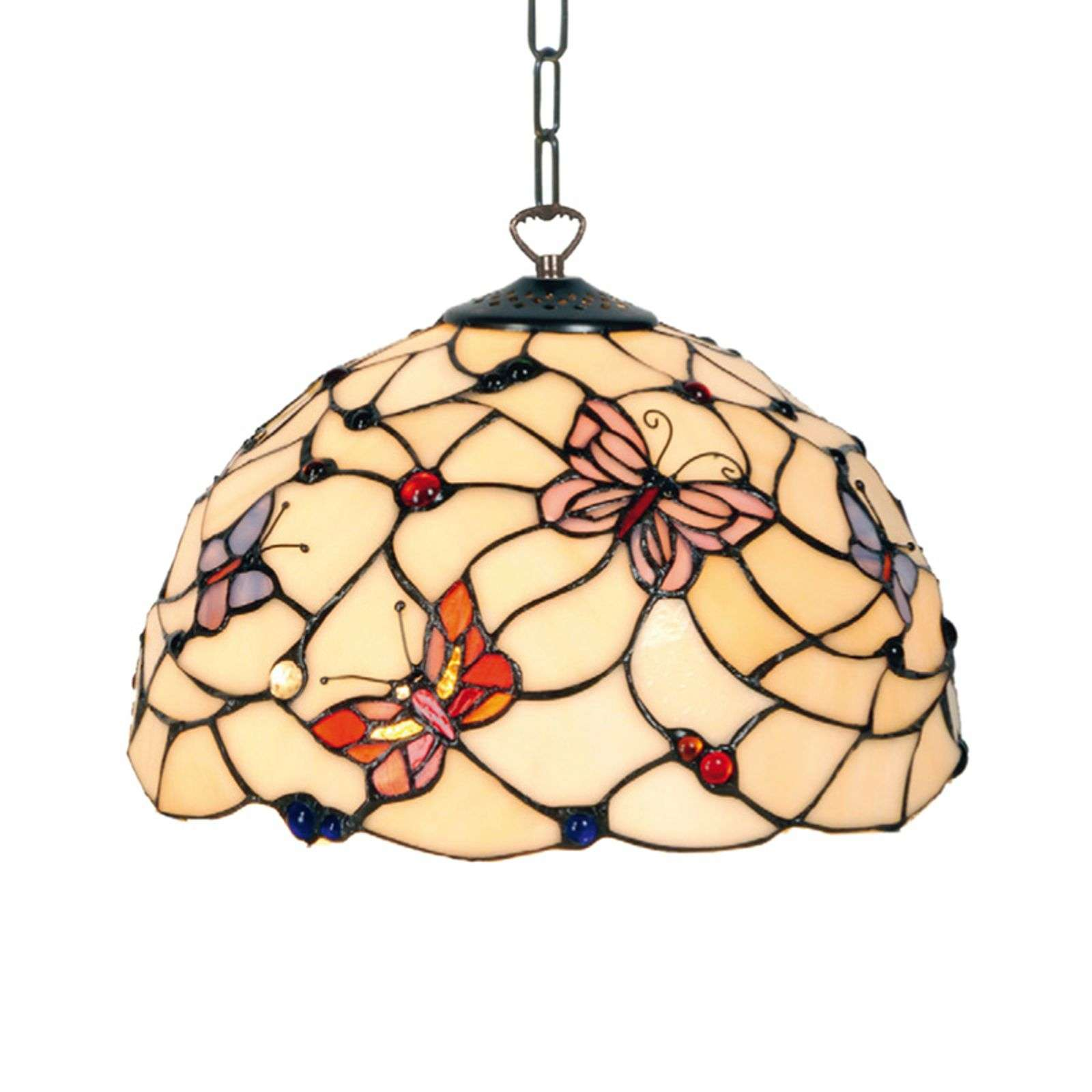 Belle suspension Palina de style Tiffany