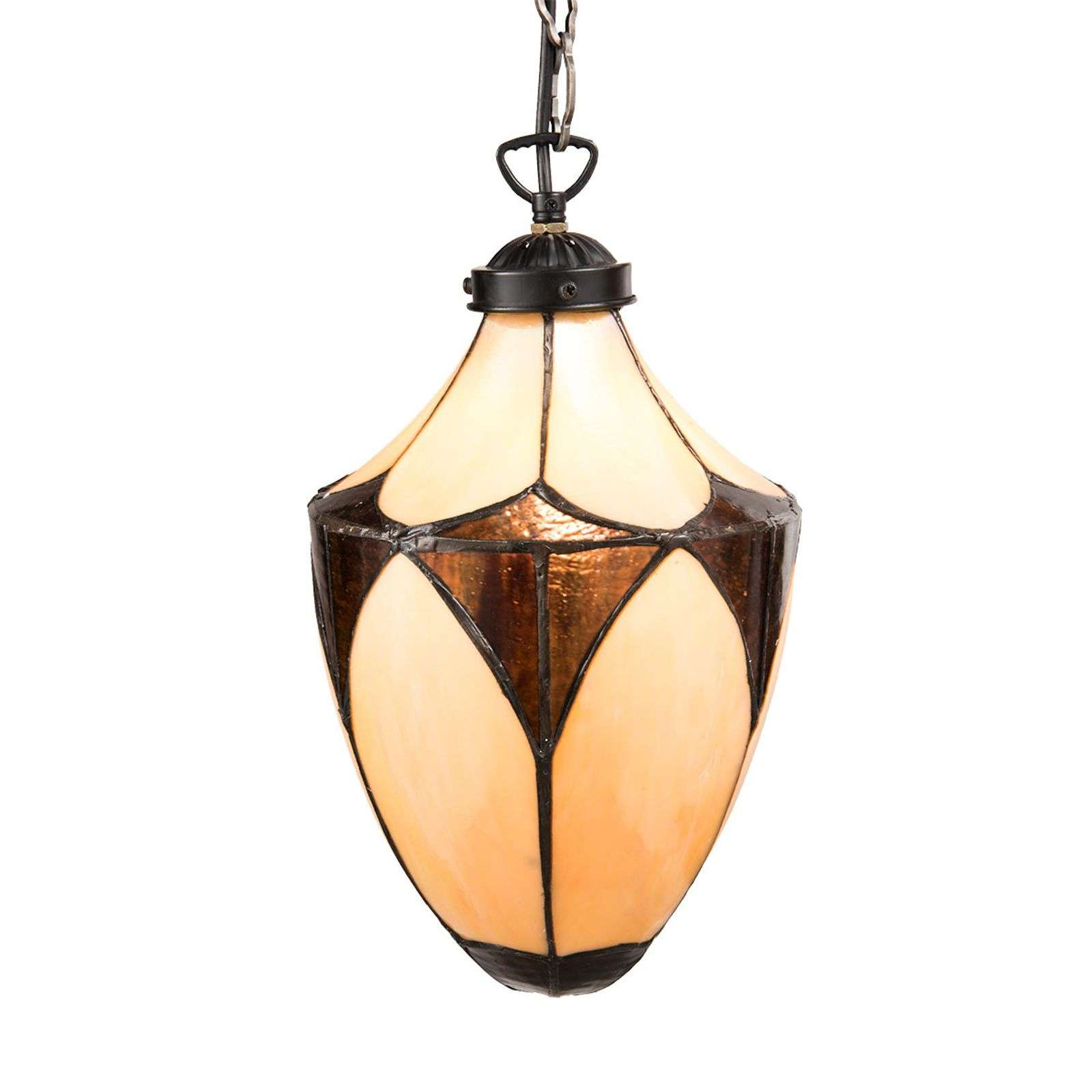 Suspension Art nouveau Olia au design Tiffany
