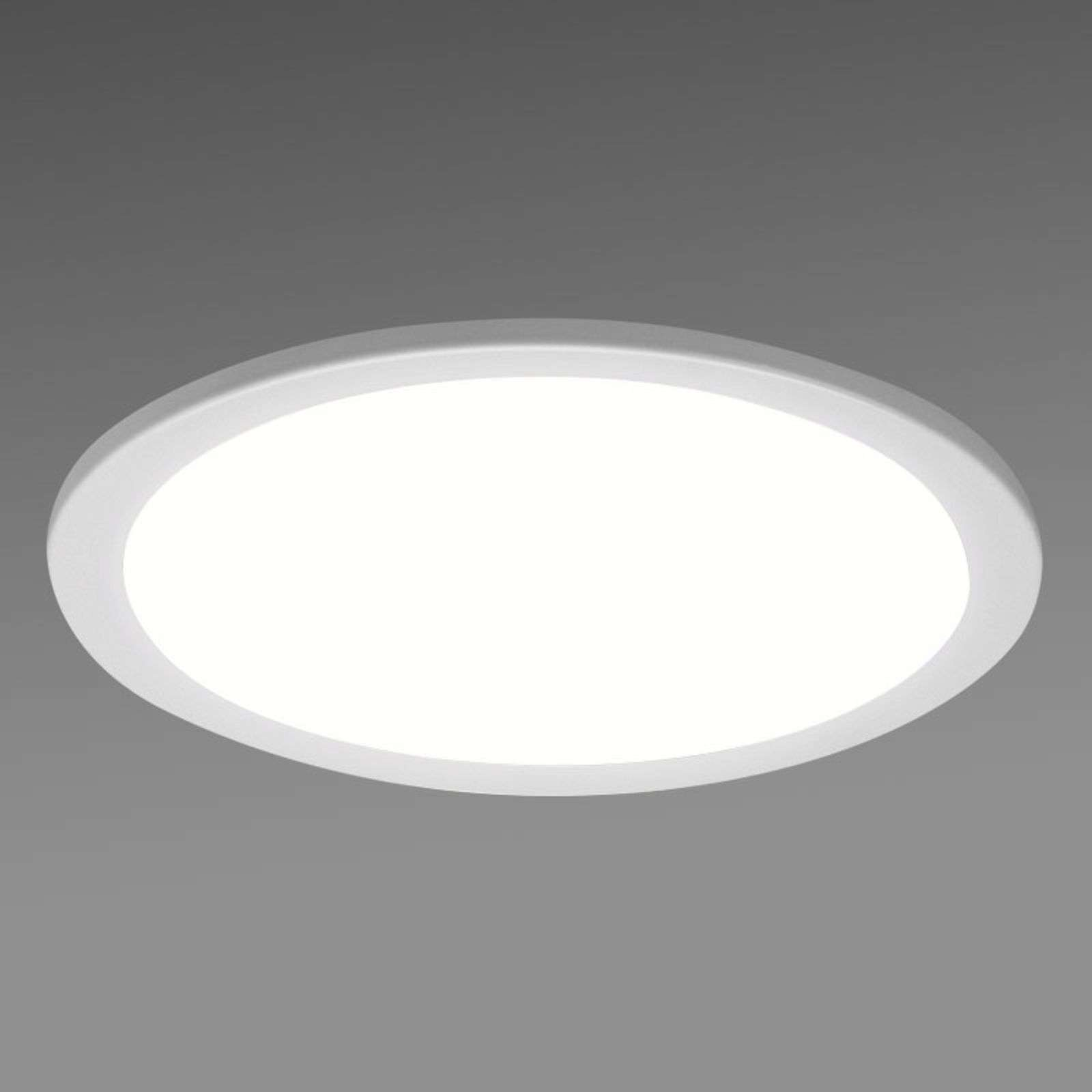 Downlight encastrable LED SBLG rond, 3 000 K