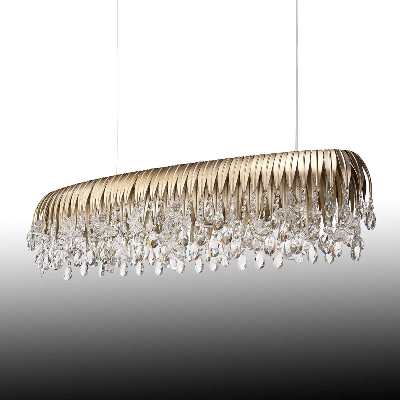 Somptueuse suspension Floralis 120 cm
