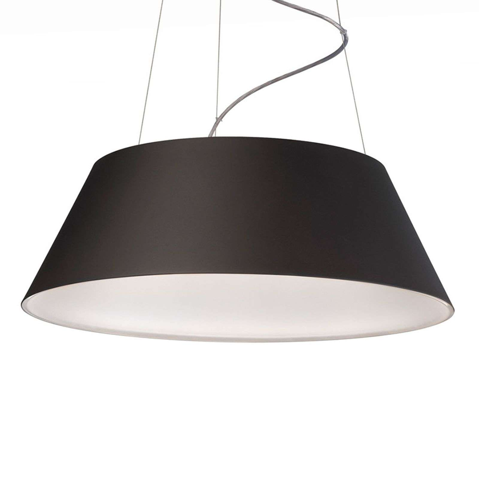 Suspension LED Cielo, noir