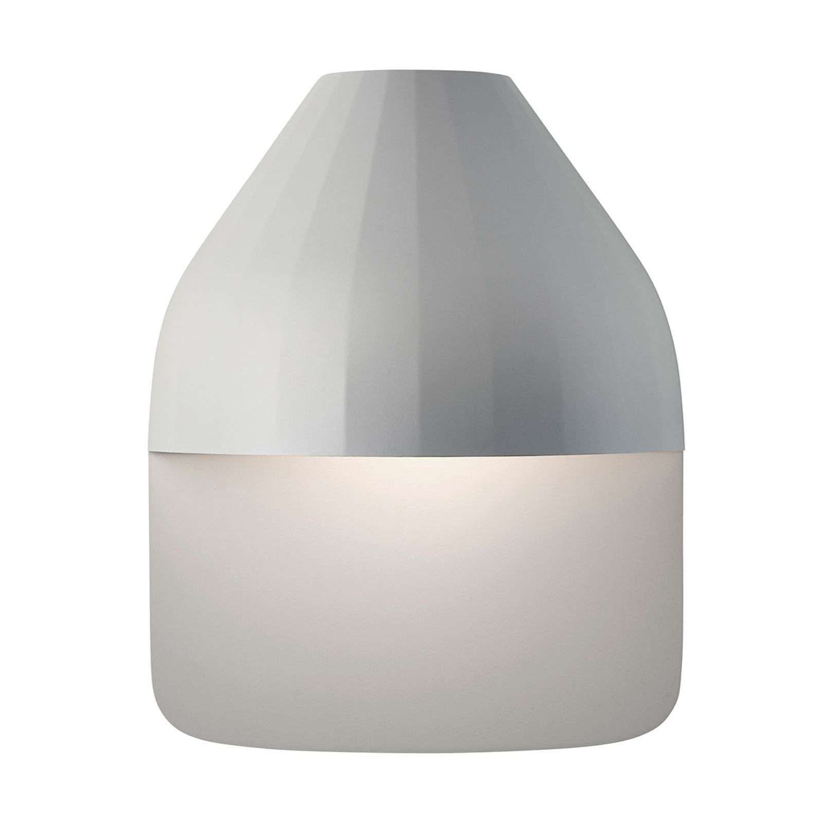 LE KLINT Facet Medium - applique LED gris clair
