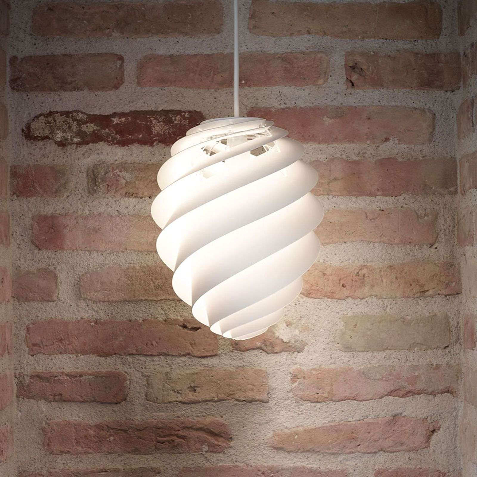 LE KLINT Swirl 2 Small, suspension blanche