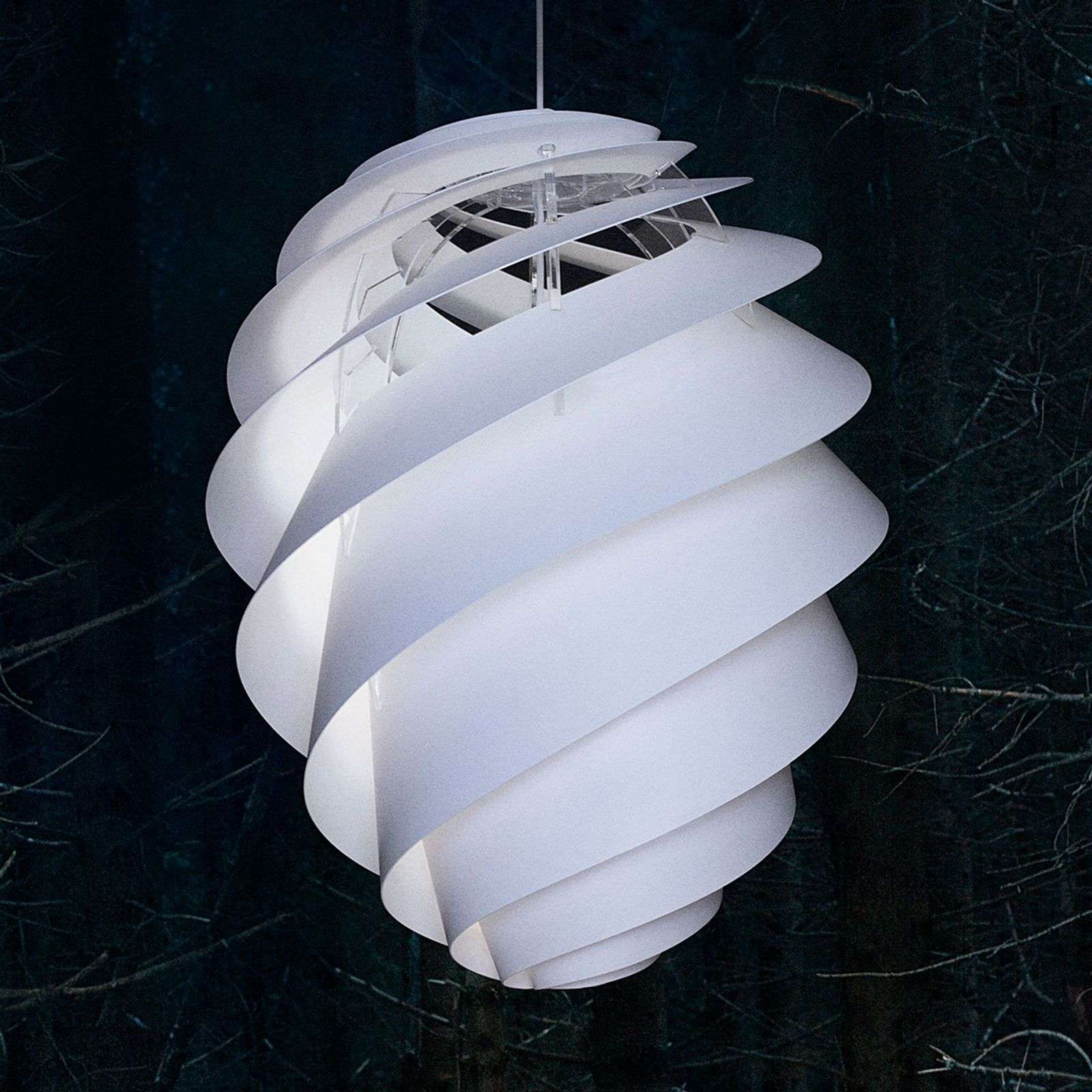 LE KLINT Swirl 2 Large, suspension blanche