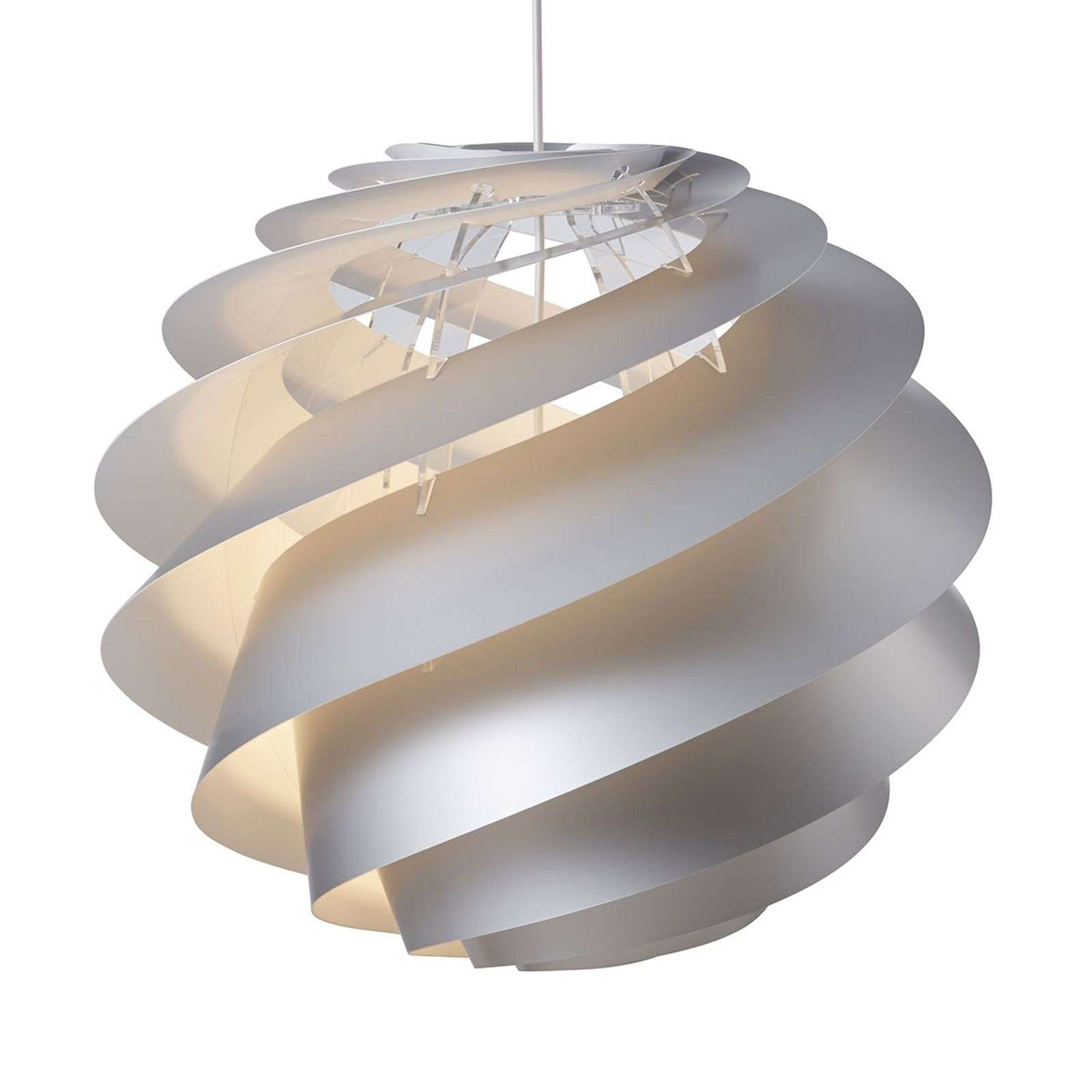 LE KLINT Swirl 3 Large - suspension argentée
