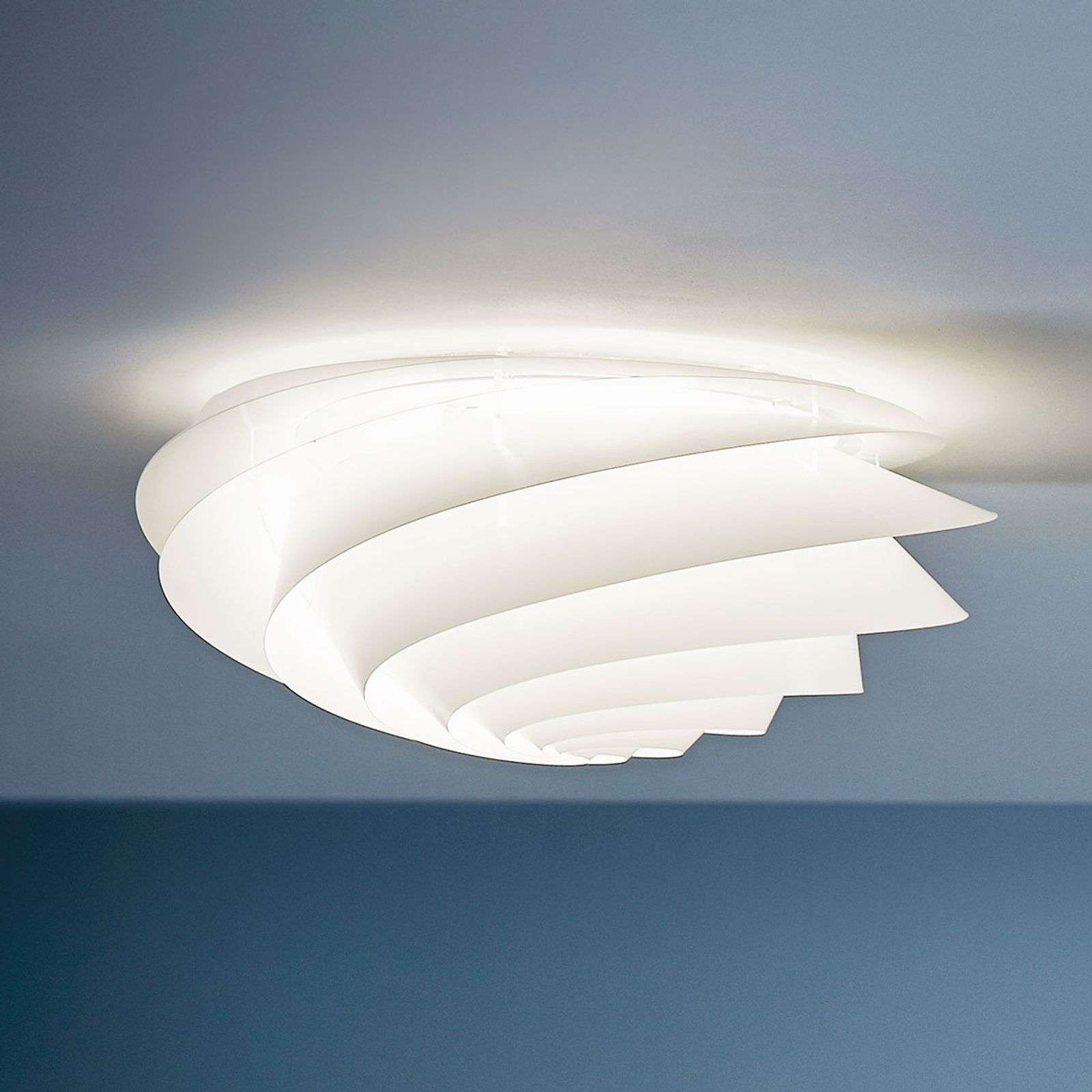 LE KLINT Swirl Medium - applique LED blanche