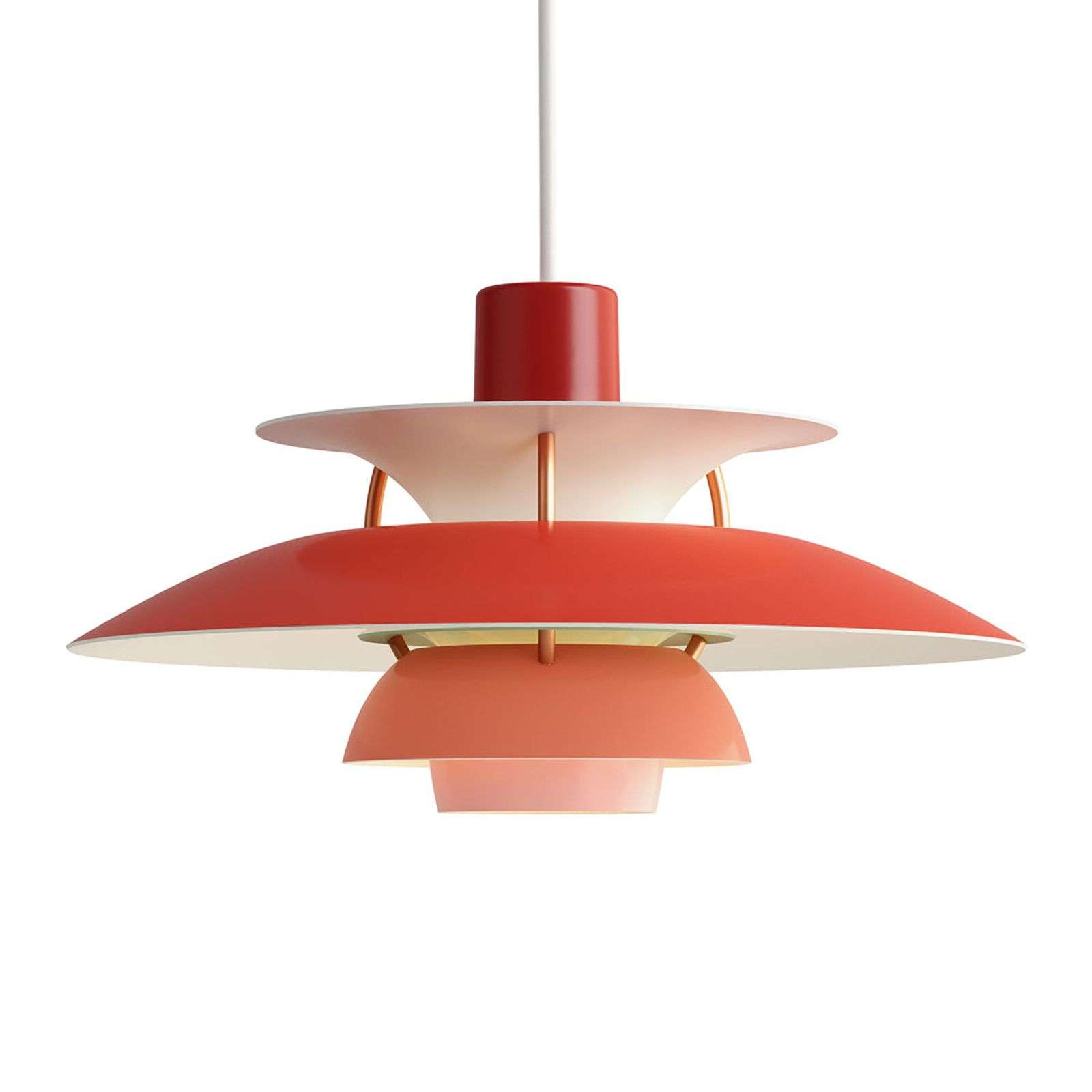 Louis Poulsen PH 5 Mini - suspension, rouge