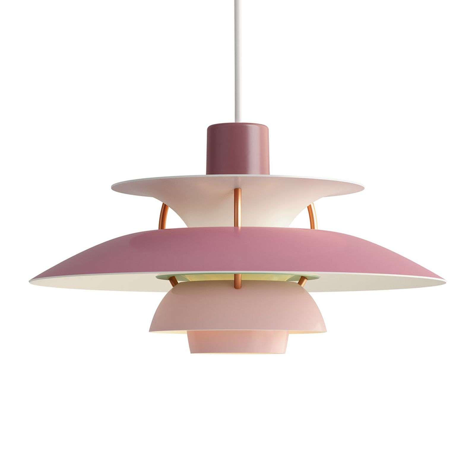 Louis Poulsen PH 5 Mini - suspension, rose