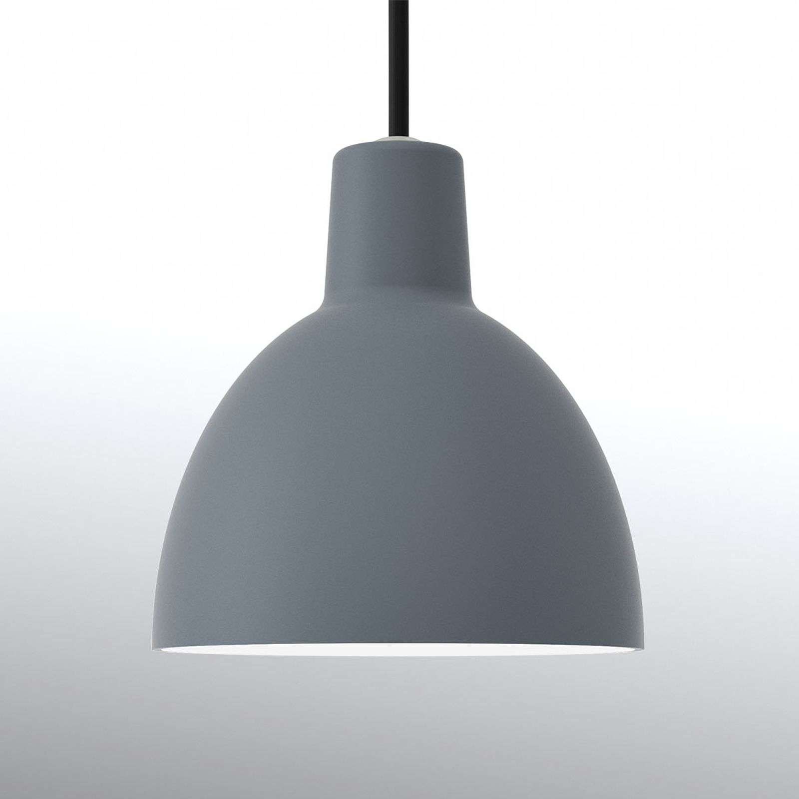 Louis Poulsen Toldbod 120, suspension bleu-gris