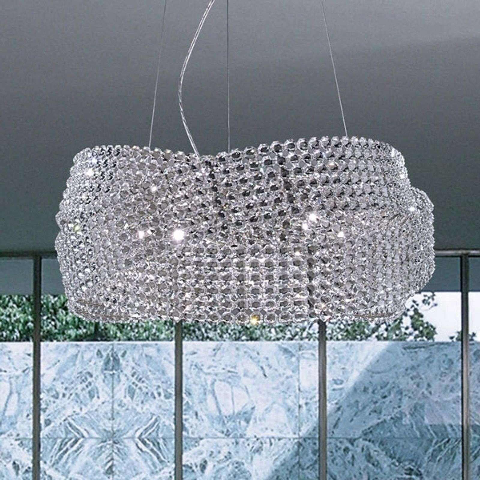 Suspension en cristal DIAMANTE