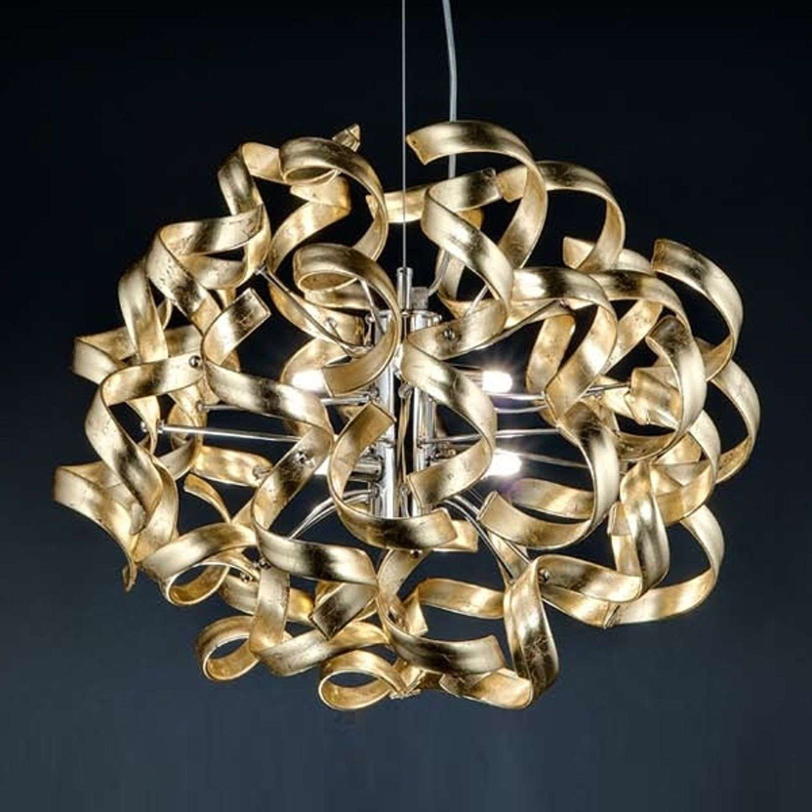 Belle suspension GOLD, Ø 50 cm