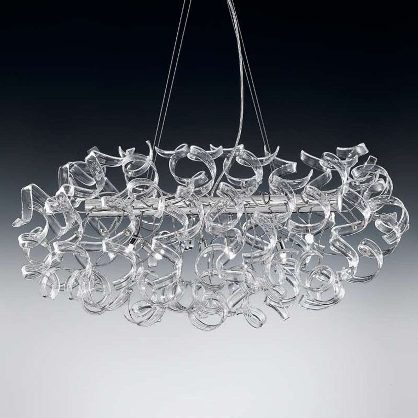 Suspension transparente CRYSTAL