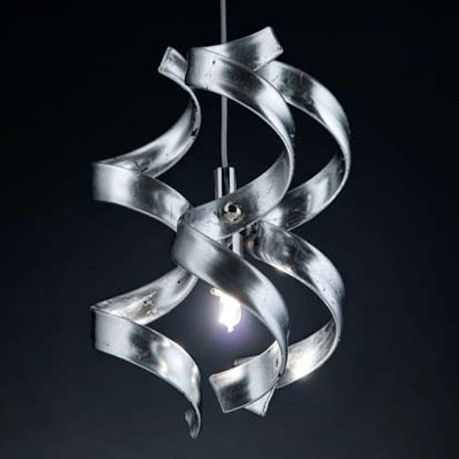 Suspension effilée SILVER, 1 lampe