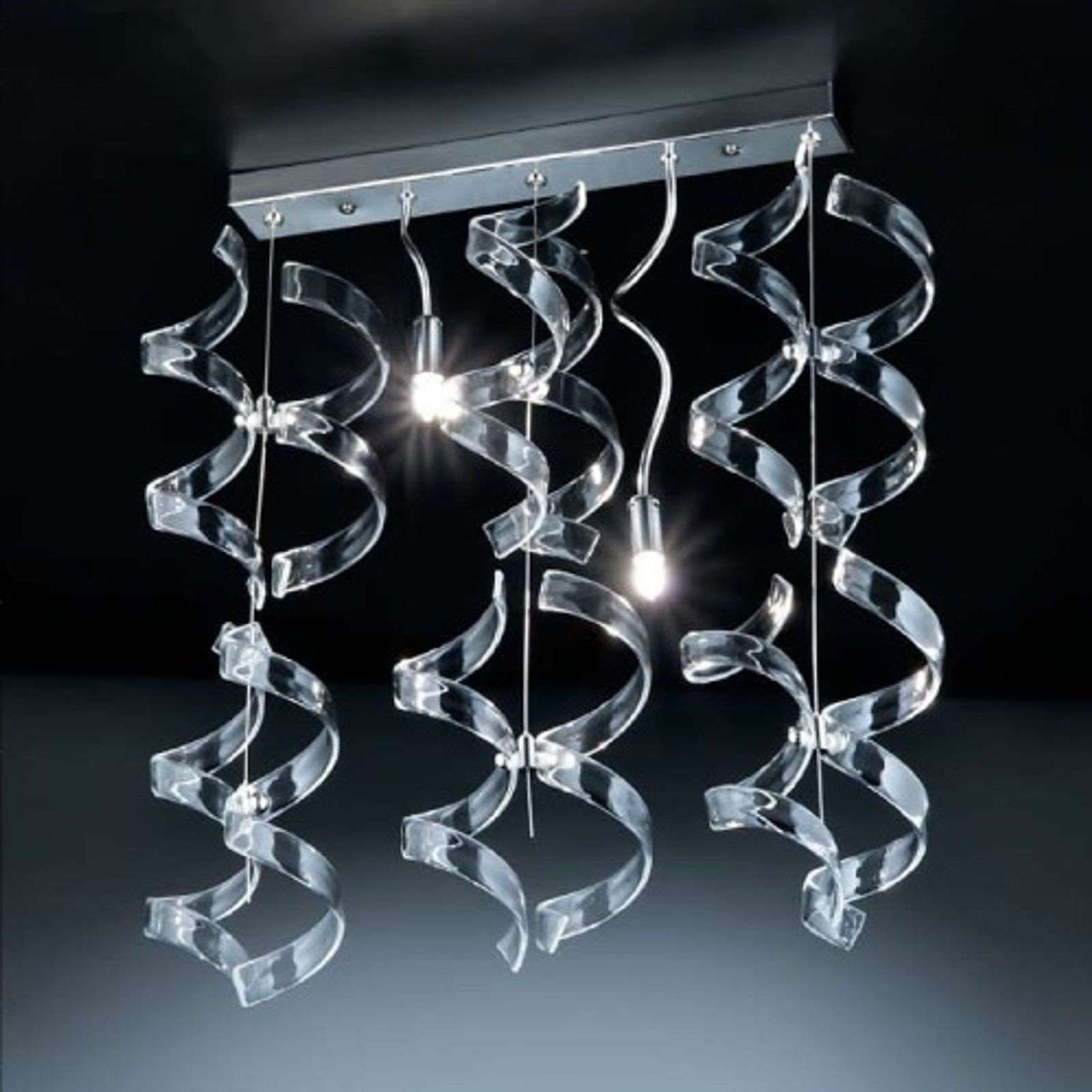 Avenante suspension CRYSTAL, 2 lampes