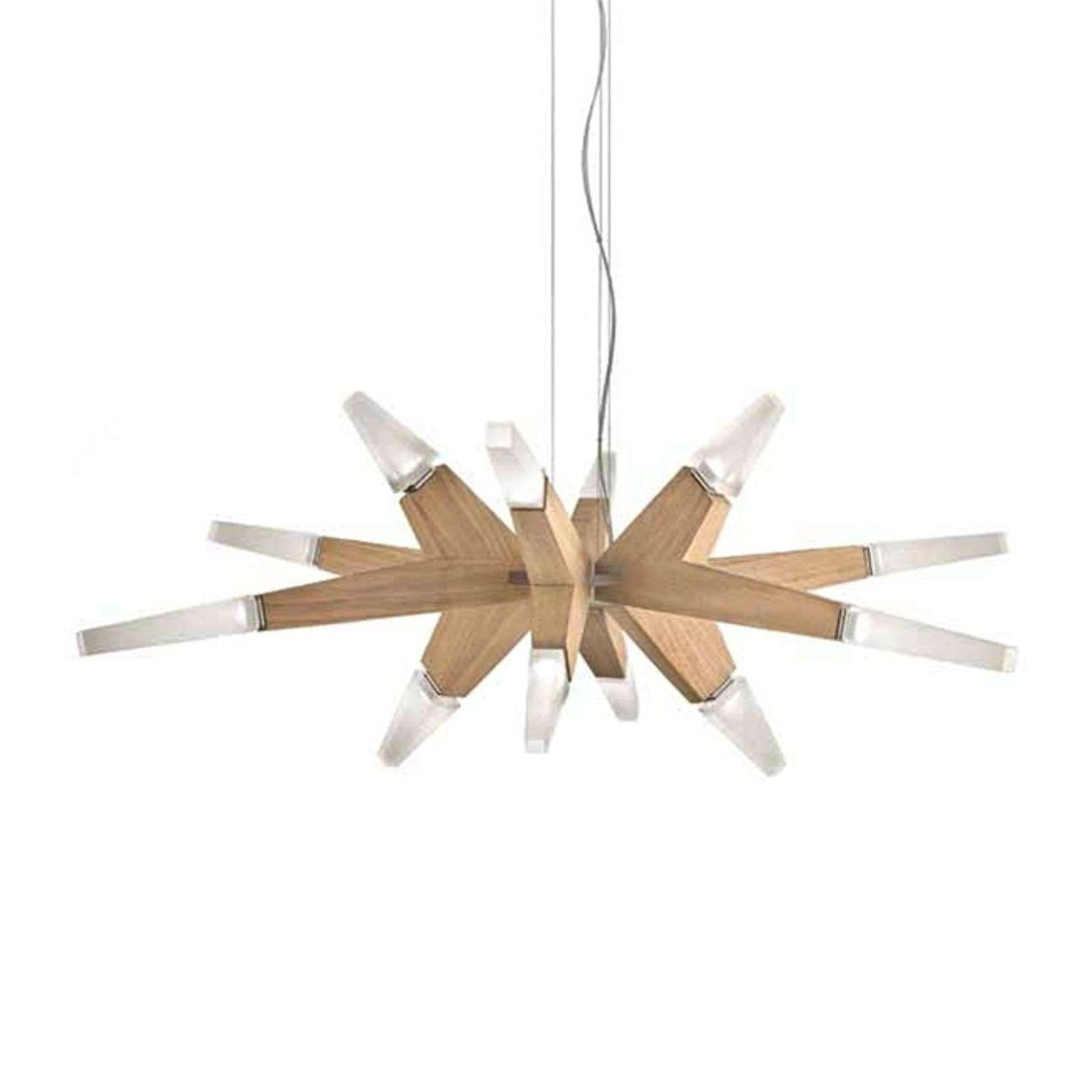 Suspension Flashwood en chêne 90 cm