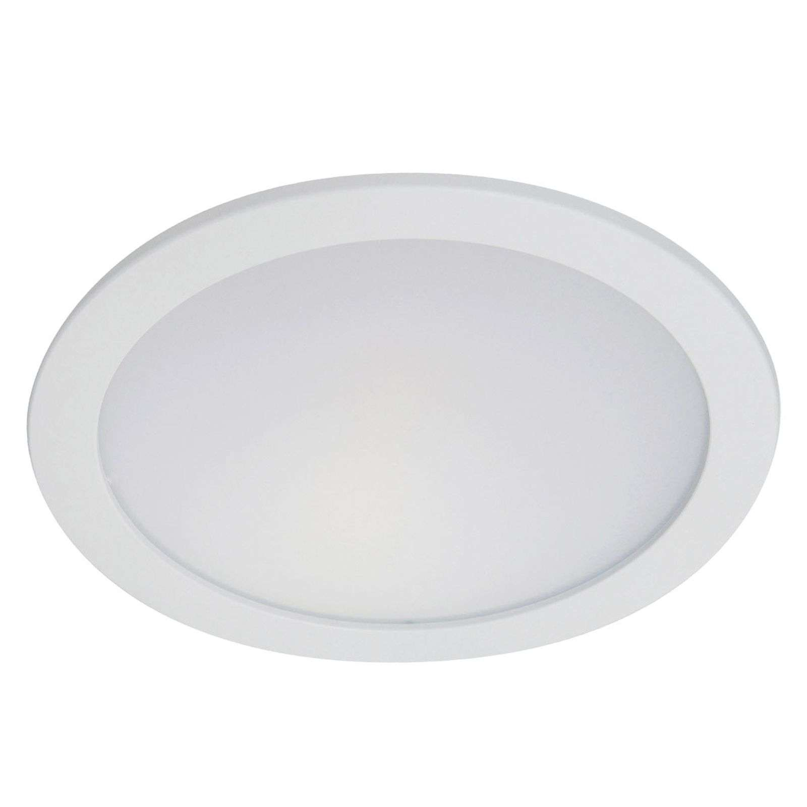 Hony - downlight encastrable LED blanc 14W, 3 000K