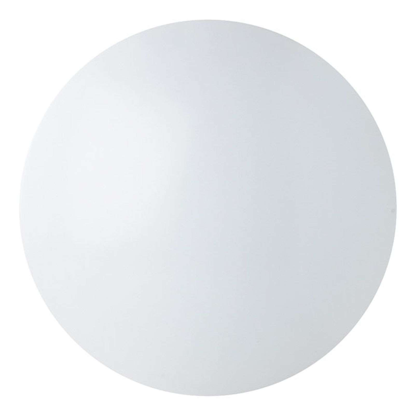 Renzo - plafonnier LED rond IP44 blanc universel