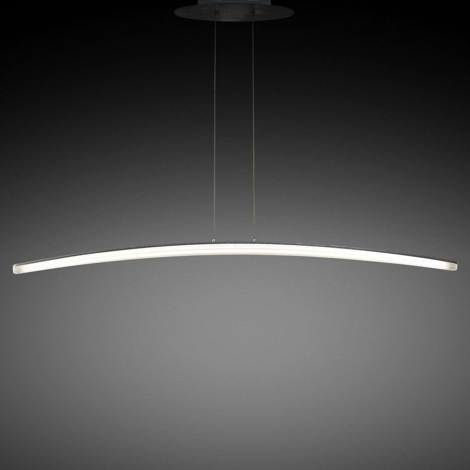 Fine suspension LED Hemisferic 110,5 cm