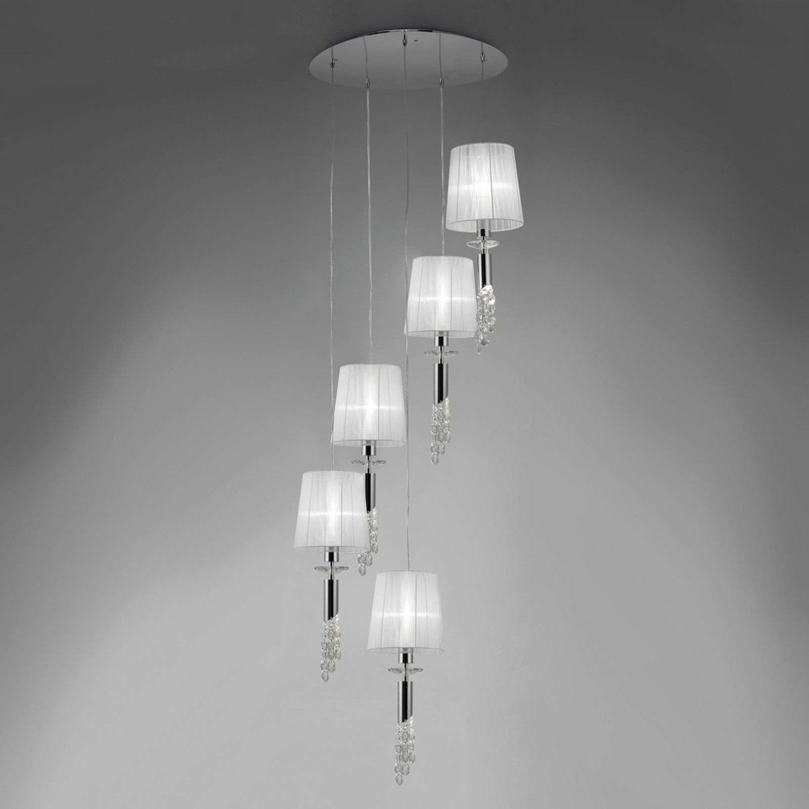 Très belle suspension Lilja, à 5 lampes