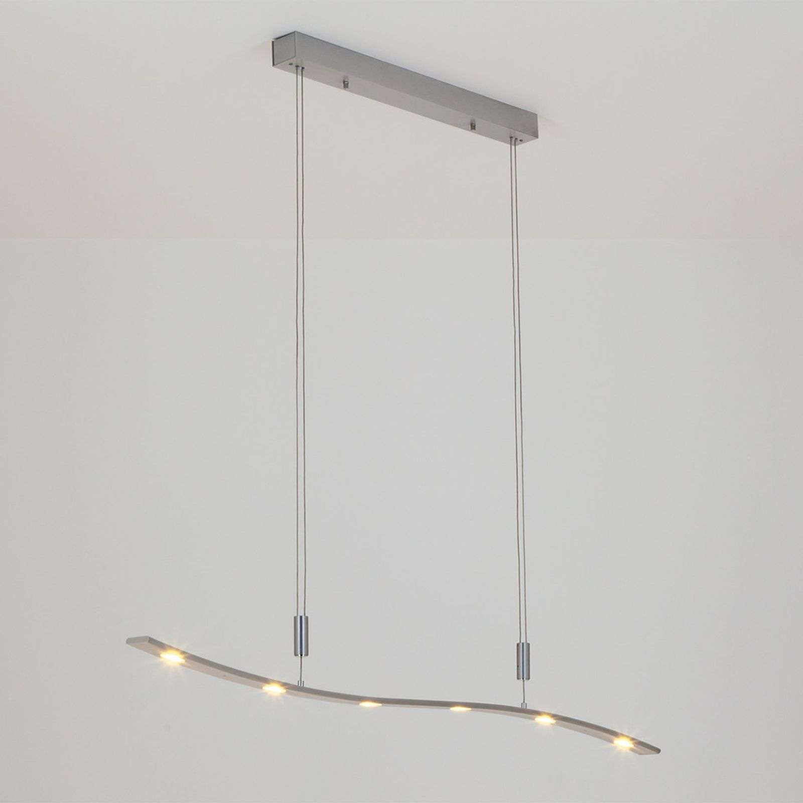 Suspension LED Xalu à hauteur réglable 120 cm