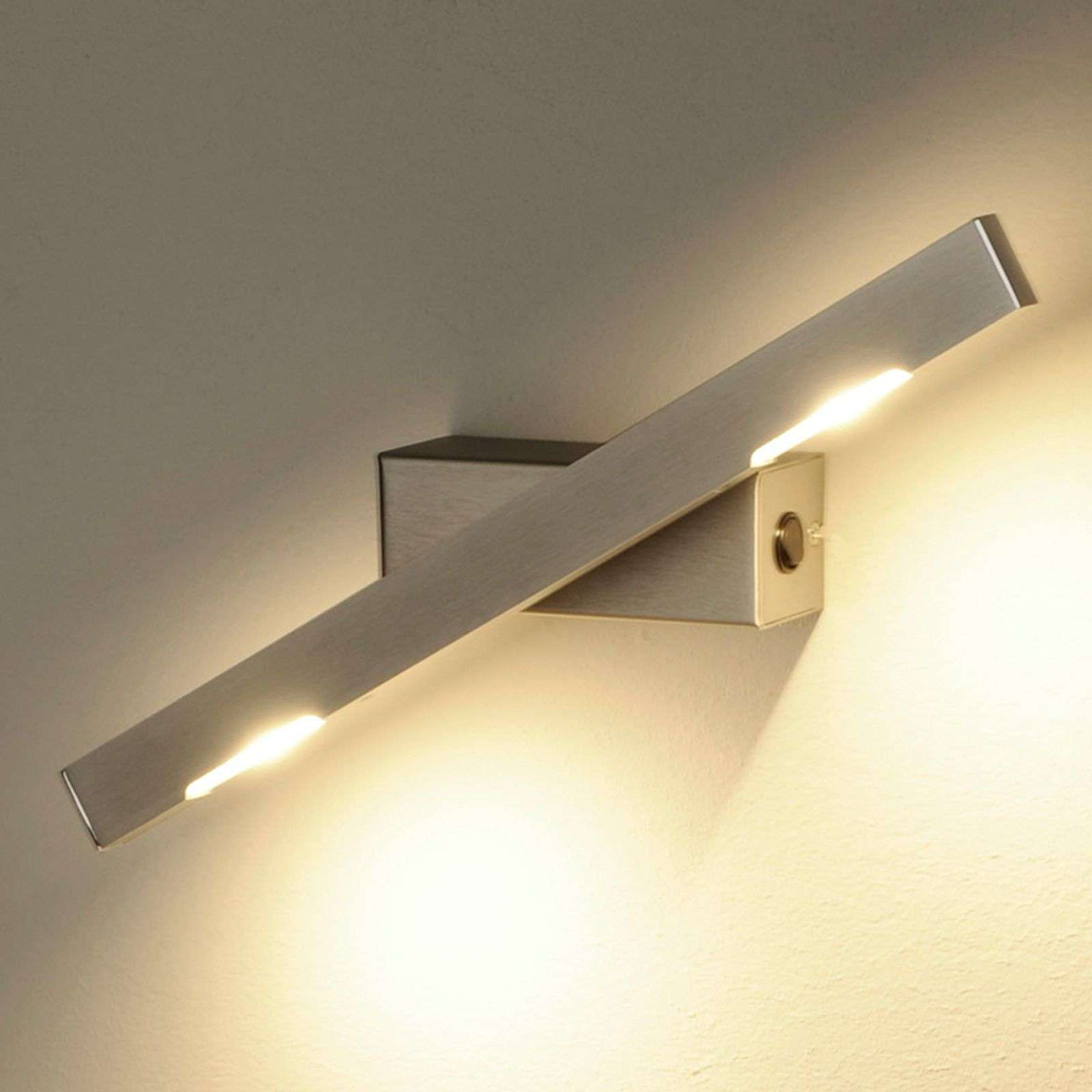 Applique LED Sina nickel mat 40 cm