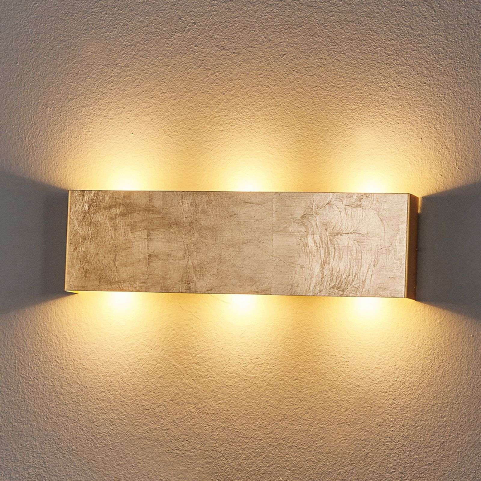 Applique LED Maja dimmable, doré antique