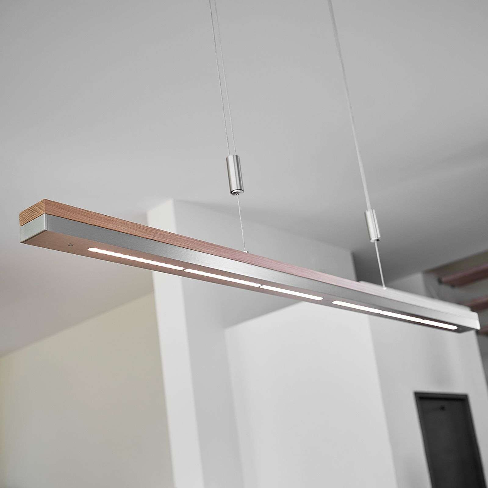 Suspension Elna avec LED dimmables, 118 cm
