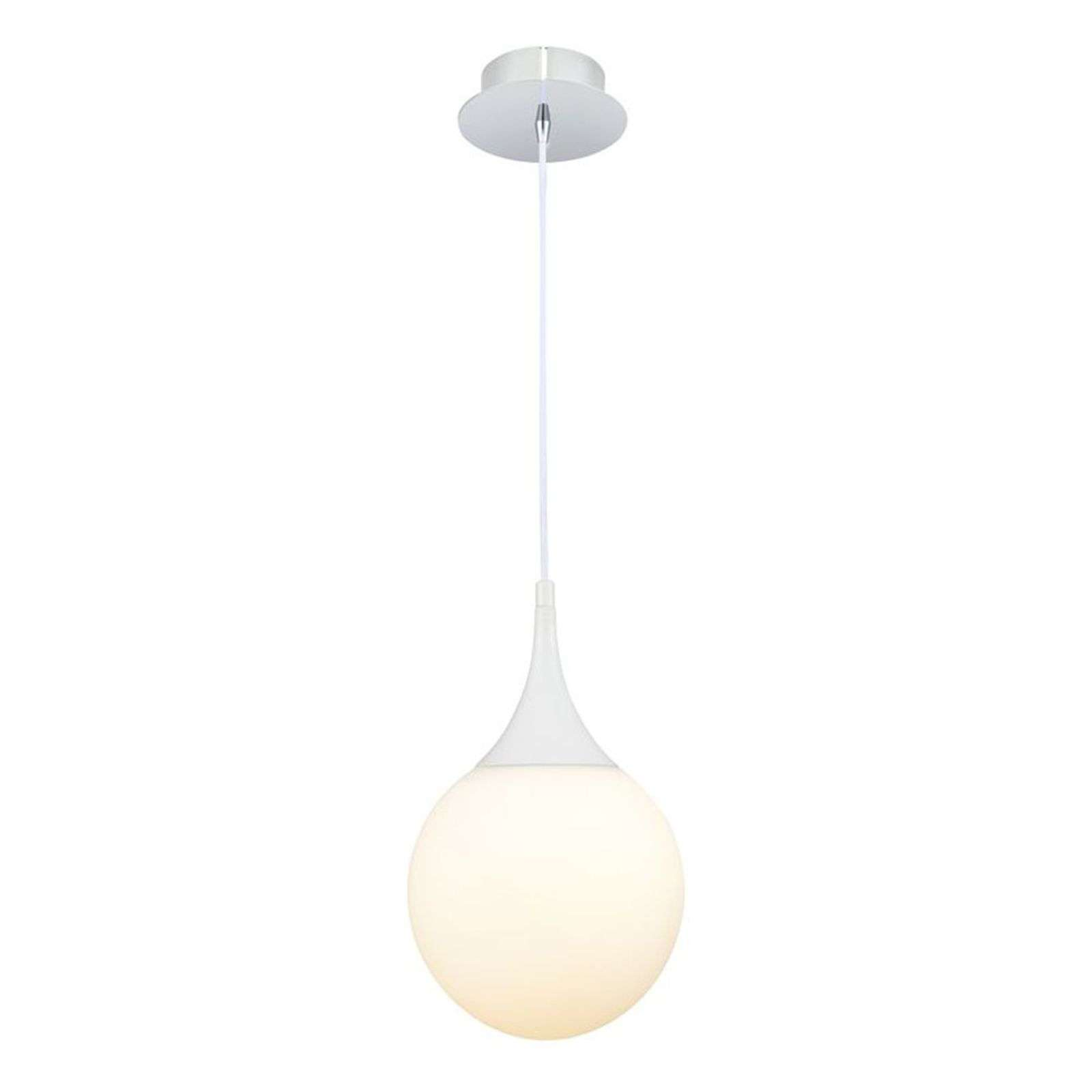 Suspension blanche Dewdrop, 20cm