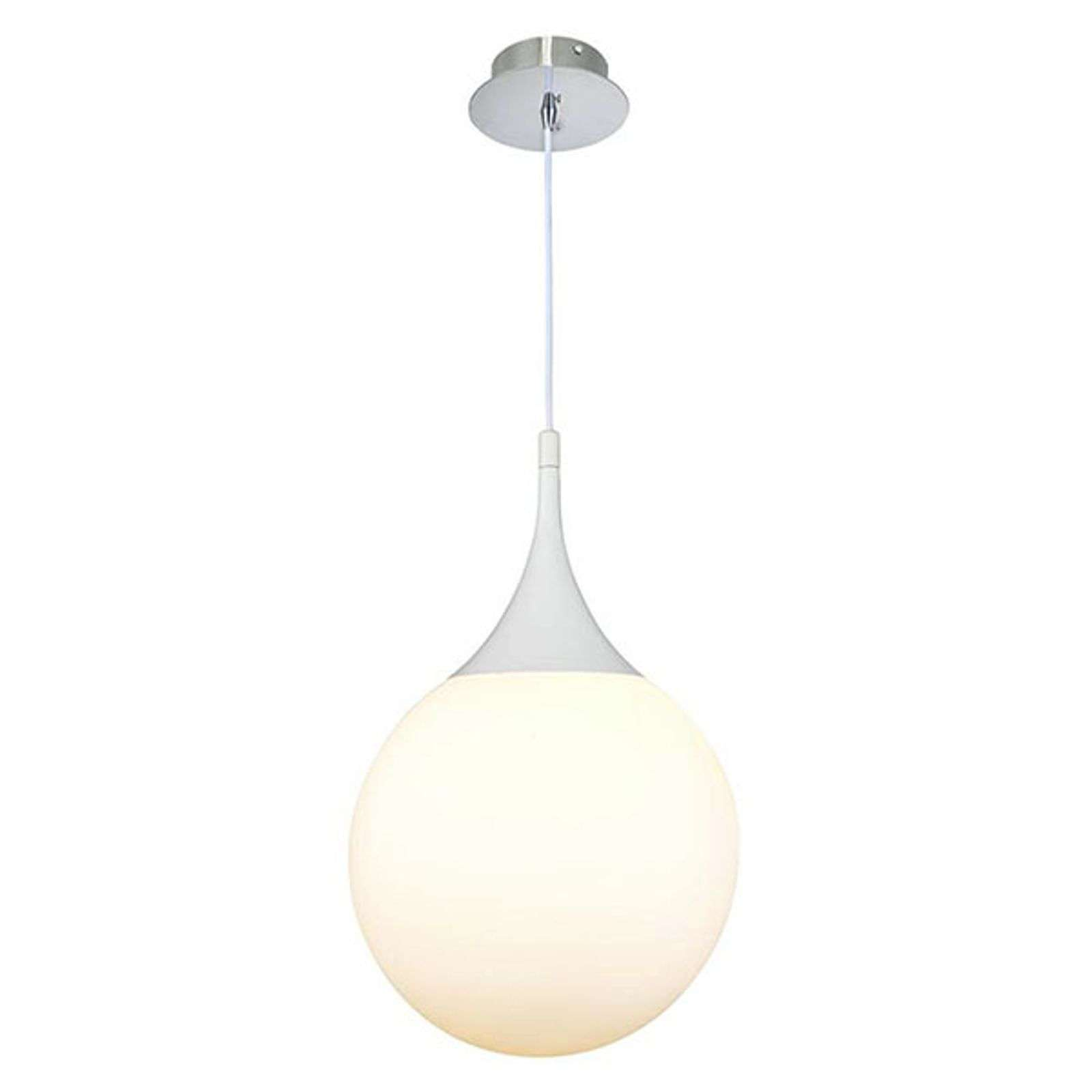 Suspension blanche Dewdrop, 30 cm