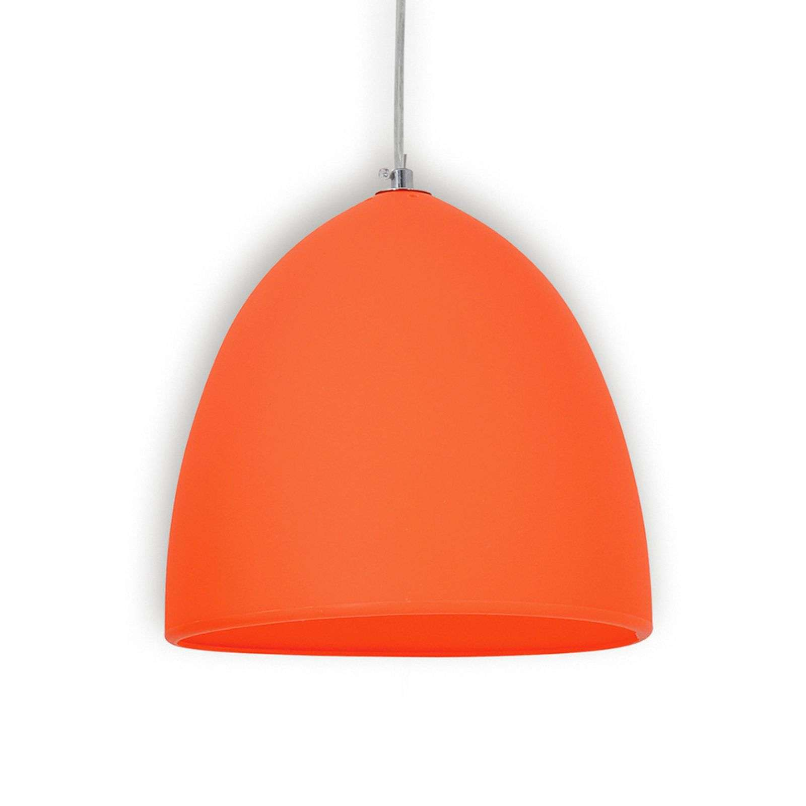 Suspension en silicone Fancy, orange