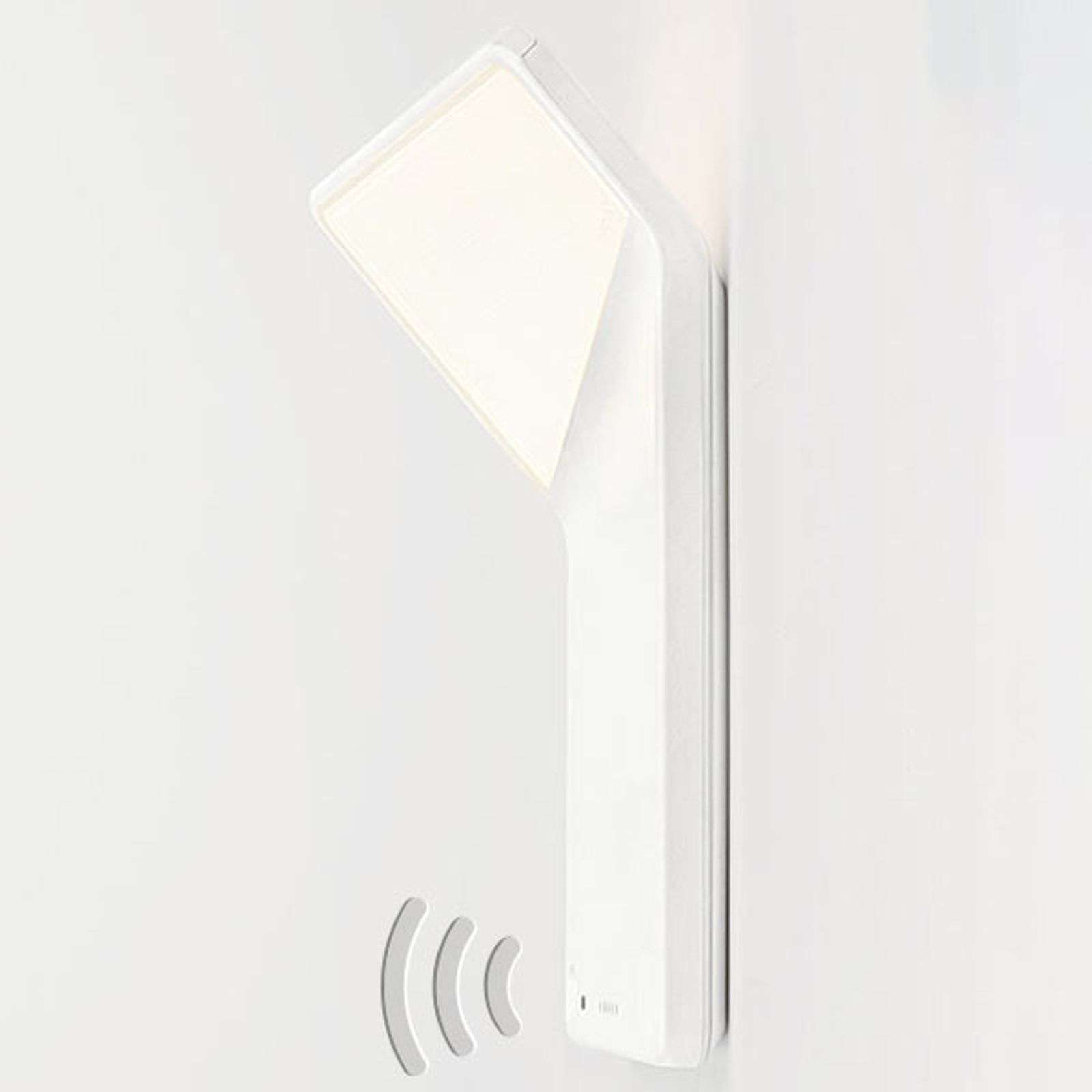 Nimbus Winglet CL applique LED, blanc mat