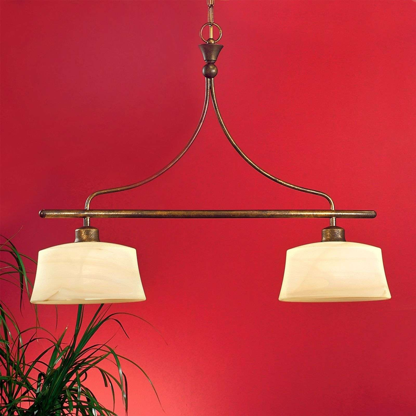Suspension stylée ESTELLA 2 lumières