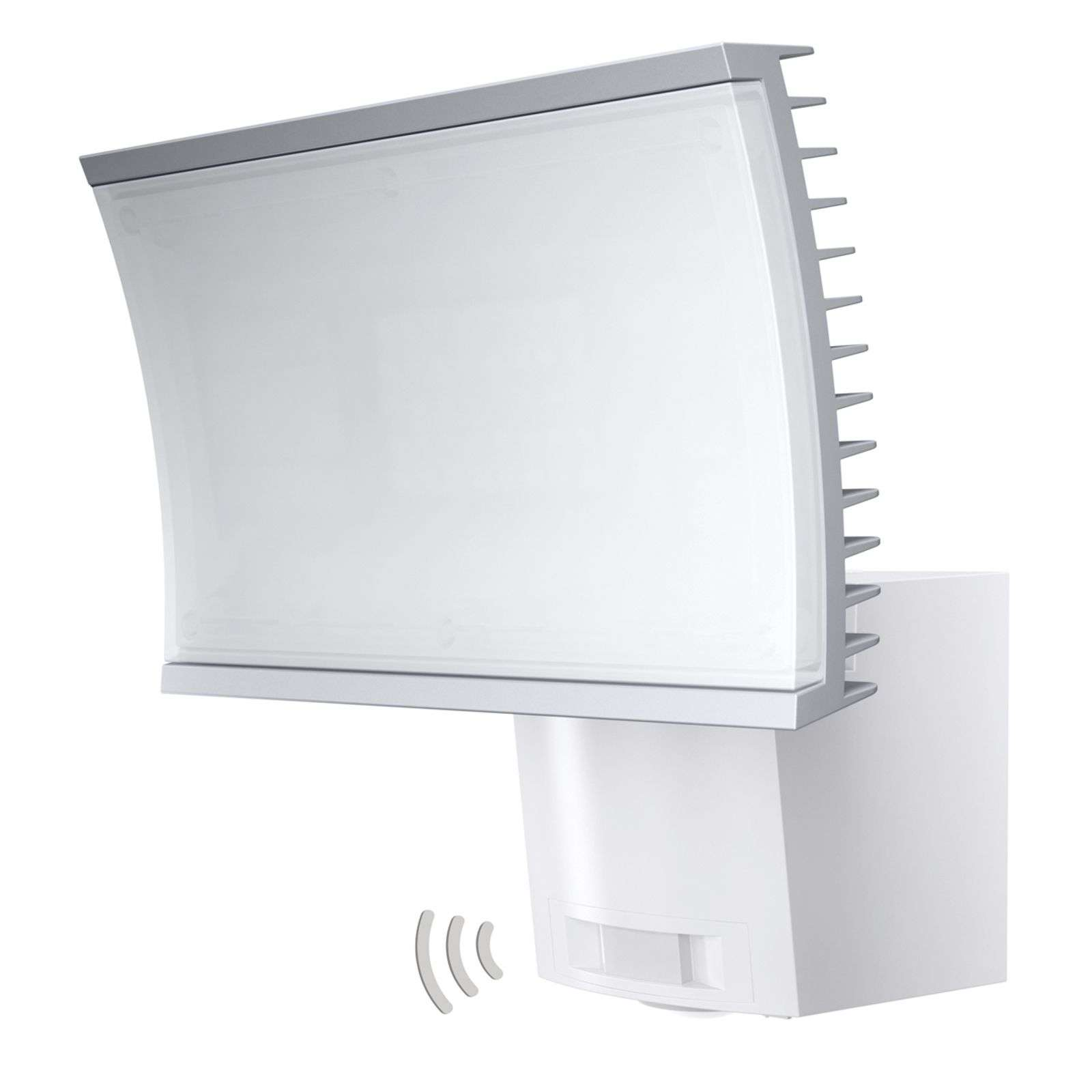 Applique LED blanche Floodlight, capteur IR