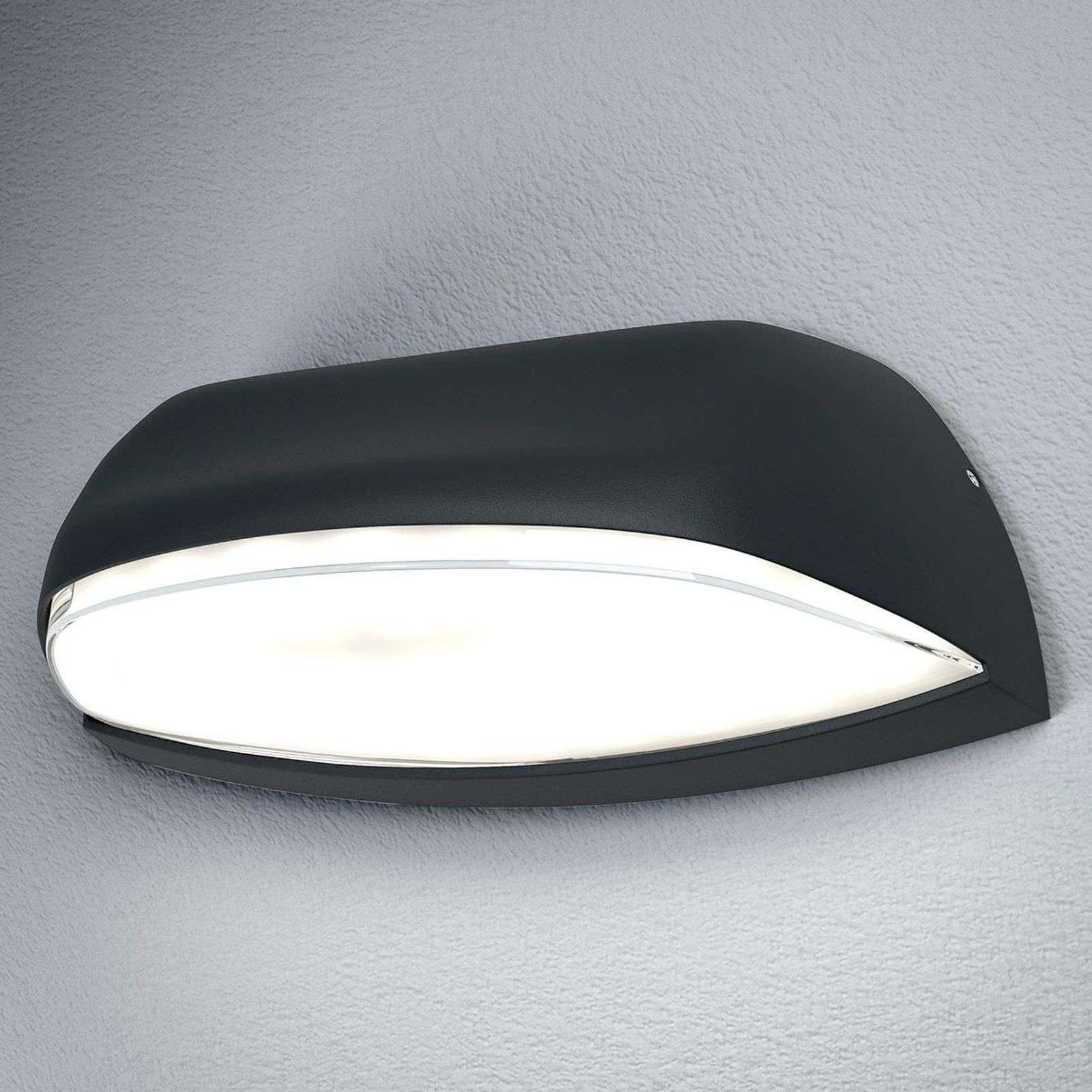 Applique ext. LED Endura Style Wide gris foncé