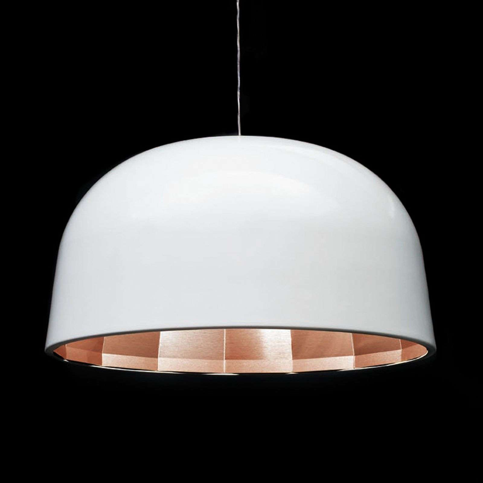 Oluce Empty - suspension LED blanche, 59 cm