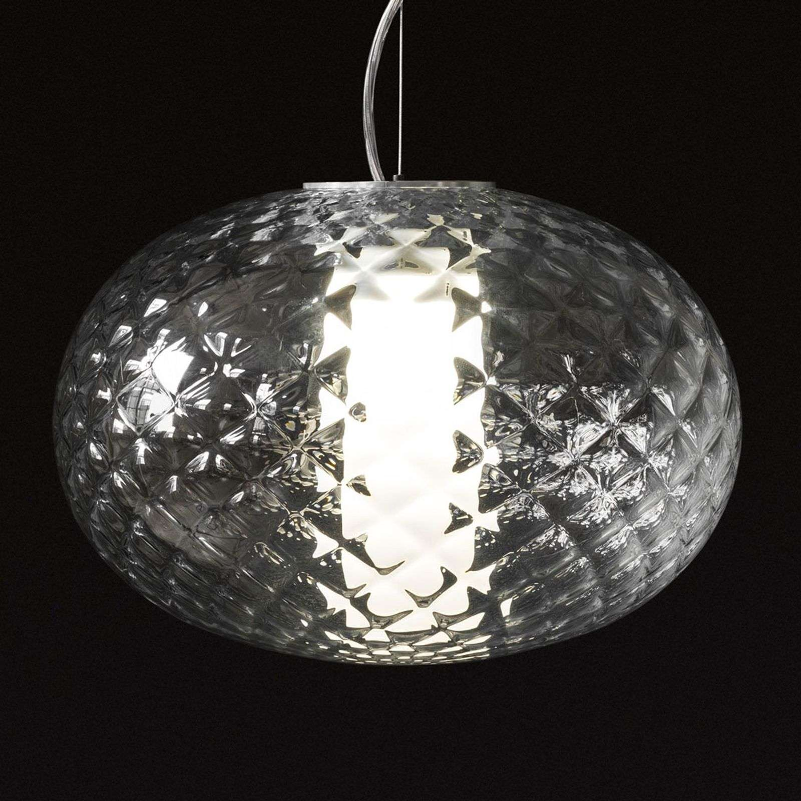 Oluce Recuerdo - suspension en verre avec LED
