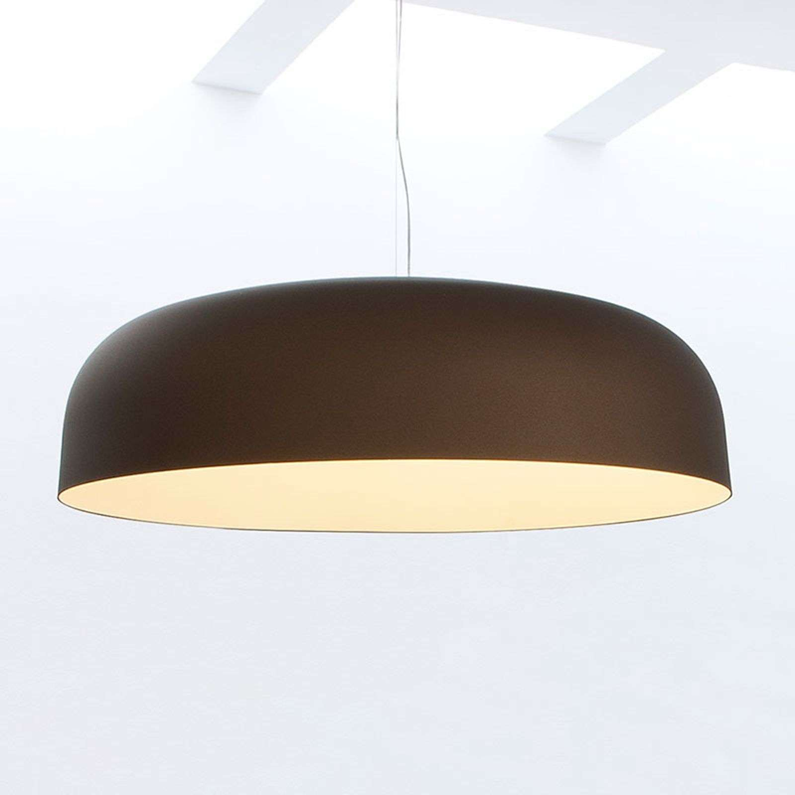 Oluce Canopy - suspension couleur bronze, 90 cm