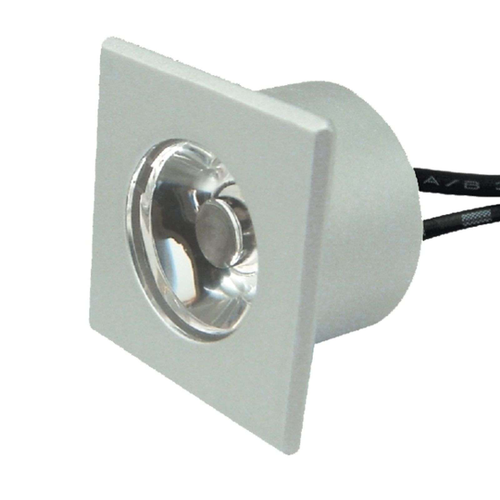Spot encastrable carré LED SANTO blanc chaud
