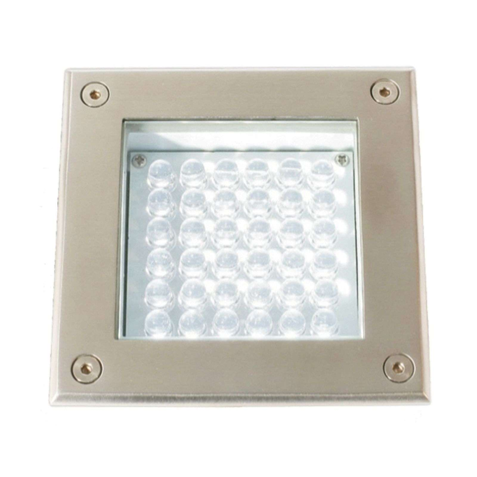 Spot encastrable au sol LED MEMA inox