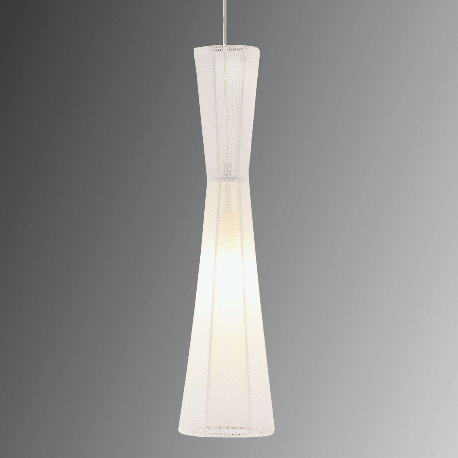 Suspension LED Felice, 60 cm, blanche