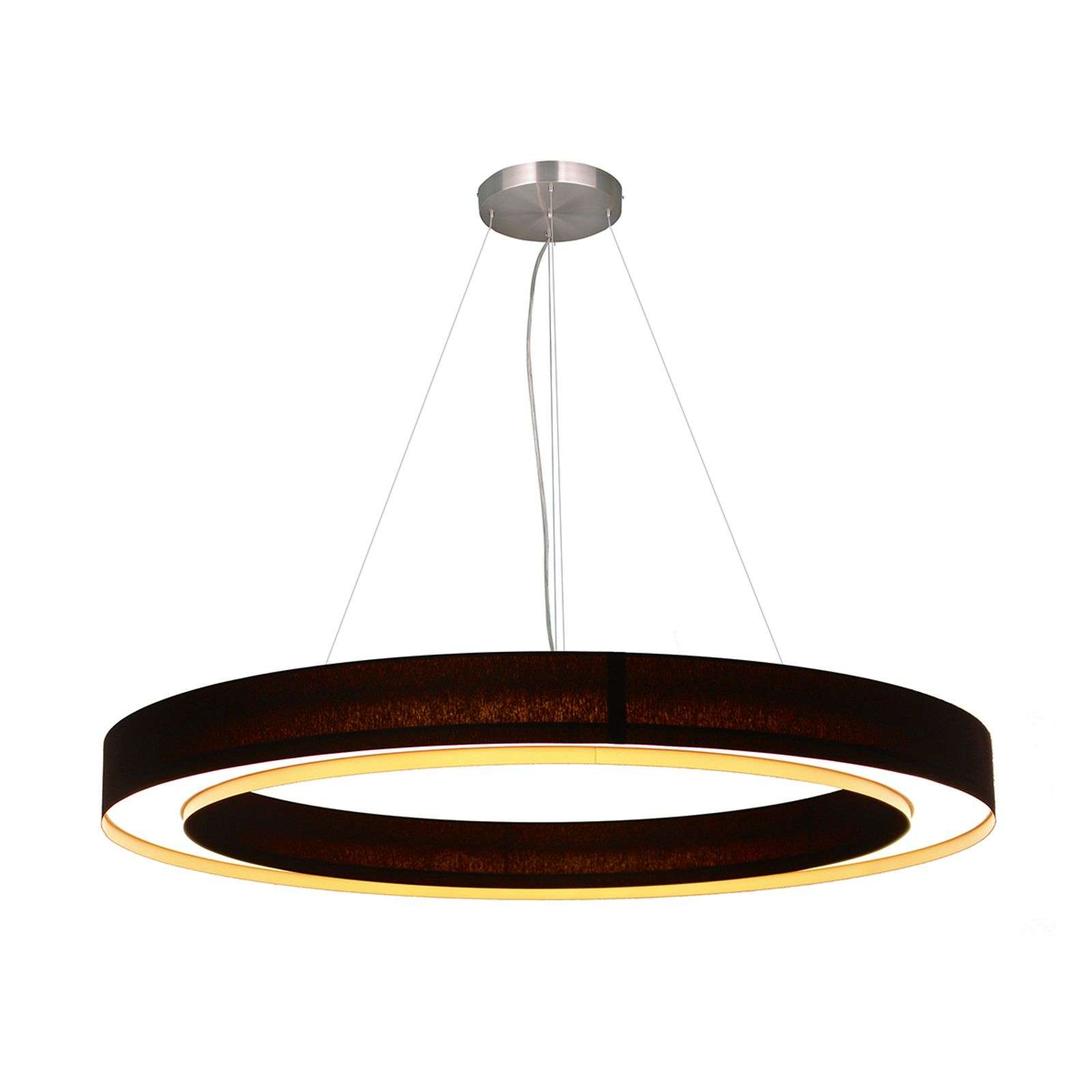 Suspension LED circulaire Cloud, 60 cm