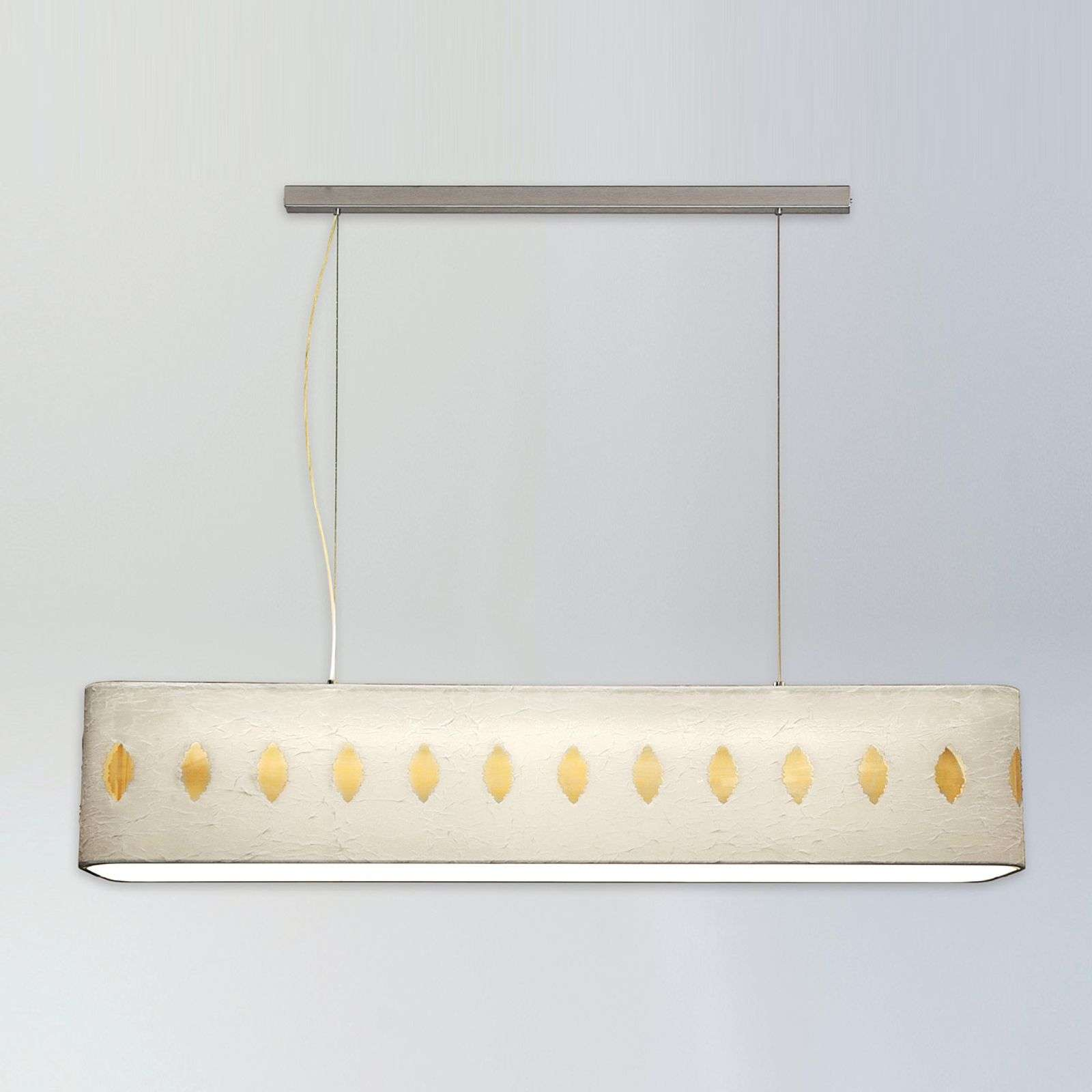 Suspension décorative Lavina 130 cm blanc