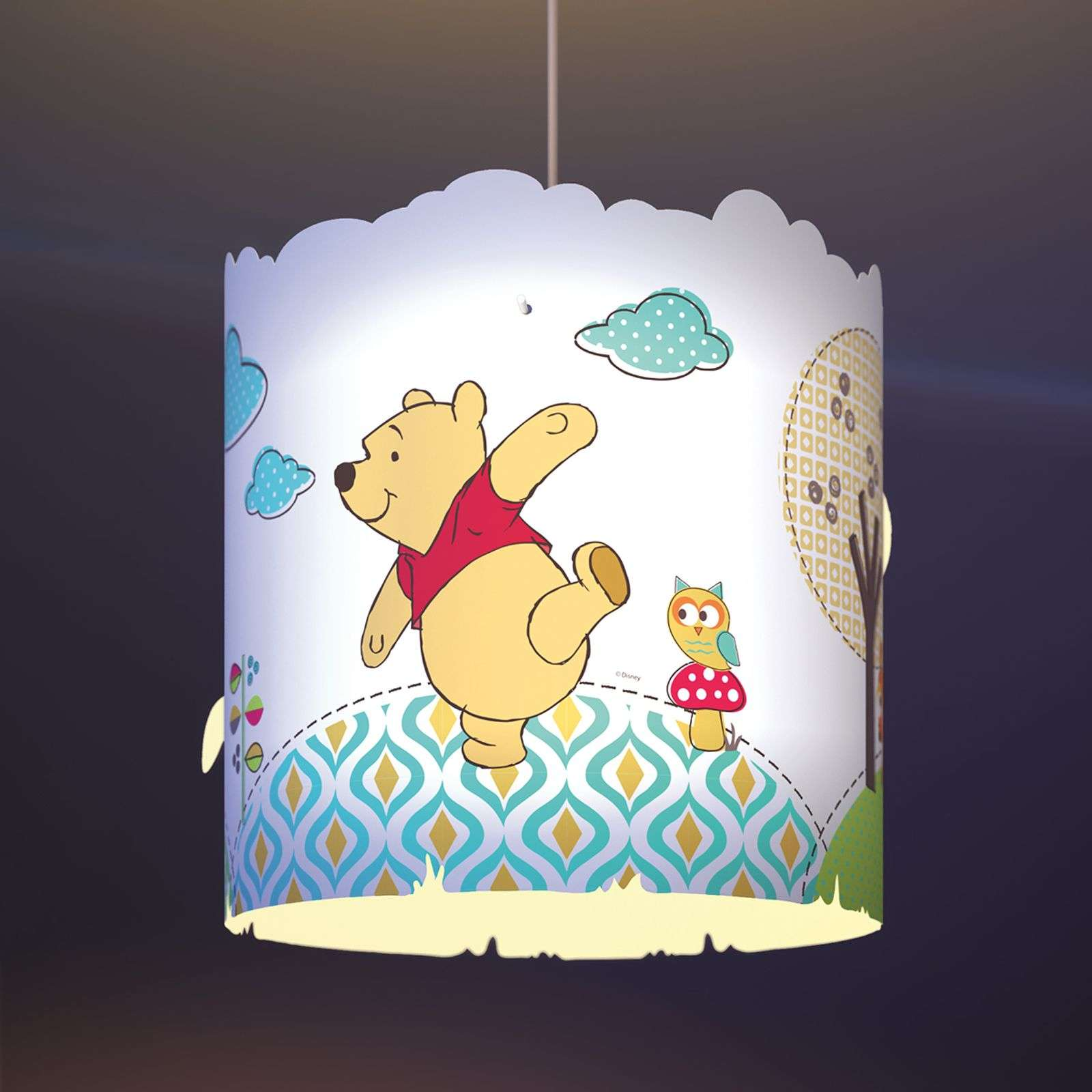 Jolie suspension pour enfant Winnie l'ourson