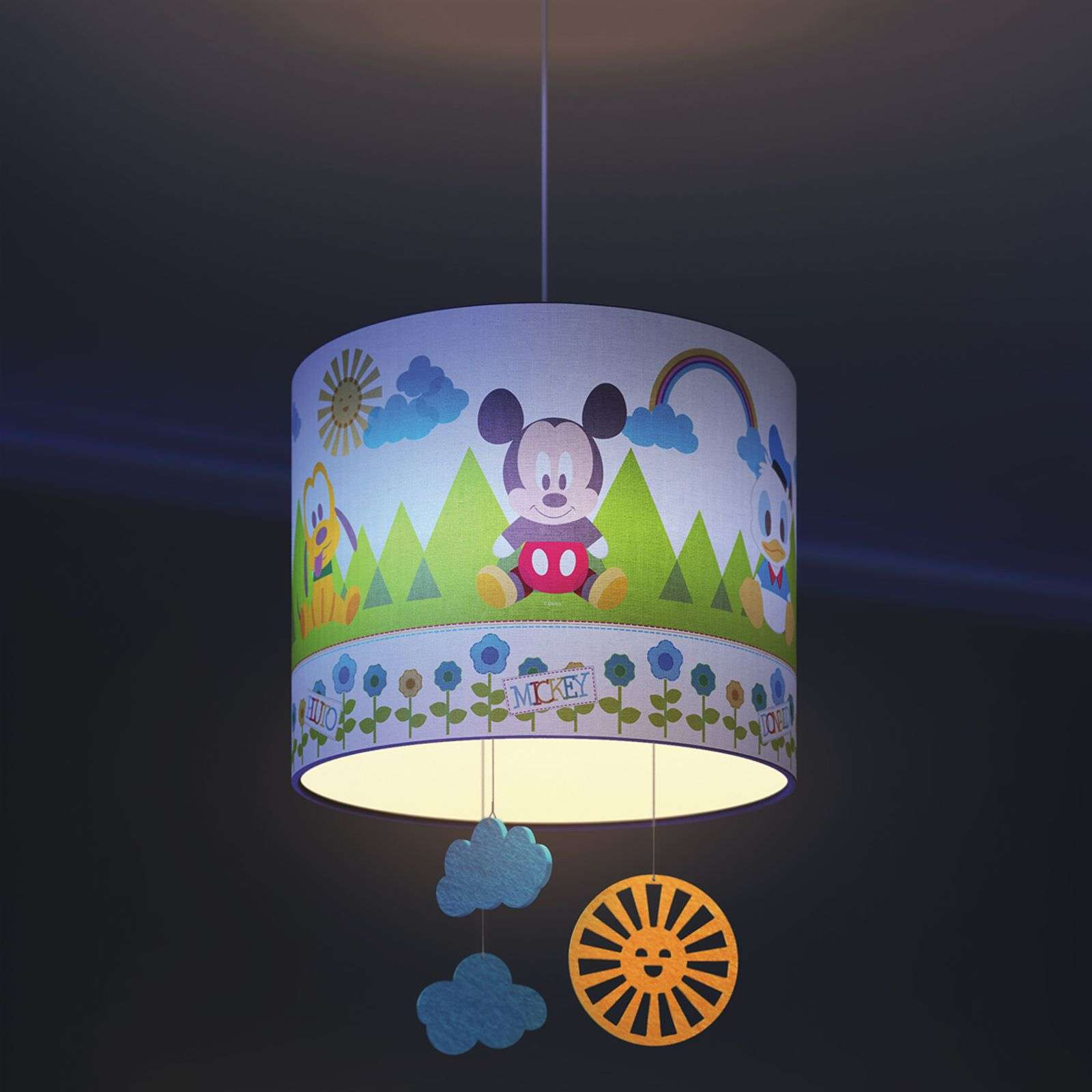 Suspension rassurant pour enfants Mickey Mouse