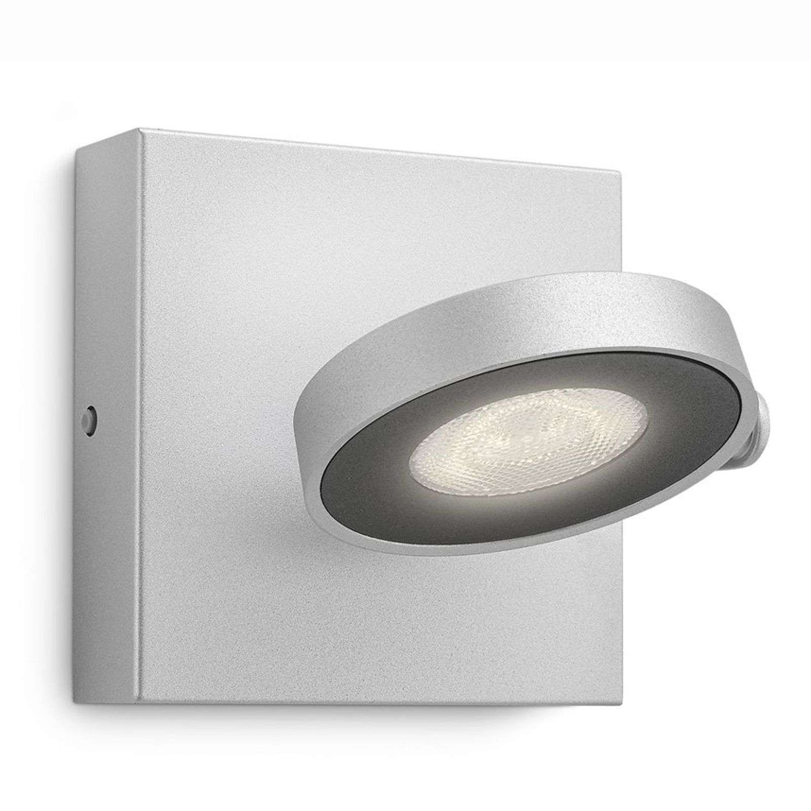 Applique LED Clockwork, finition alu