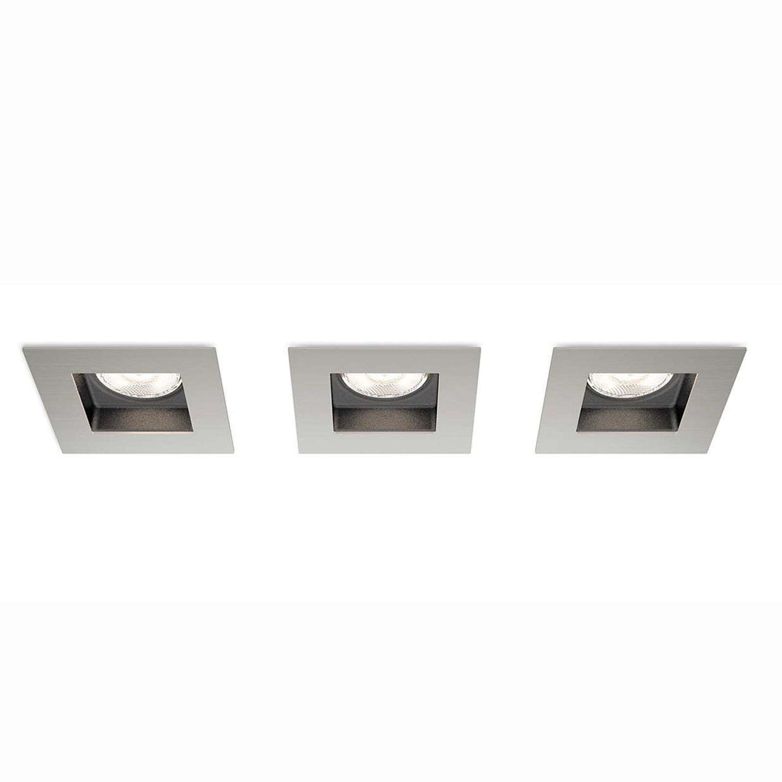 Lot de 3 spots encastrables LED Porrima
