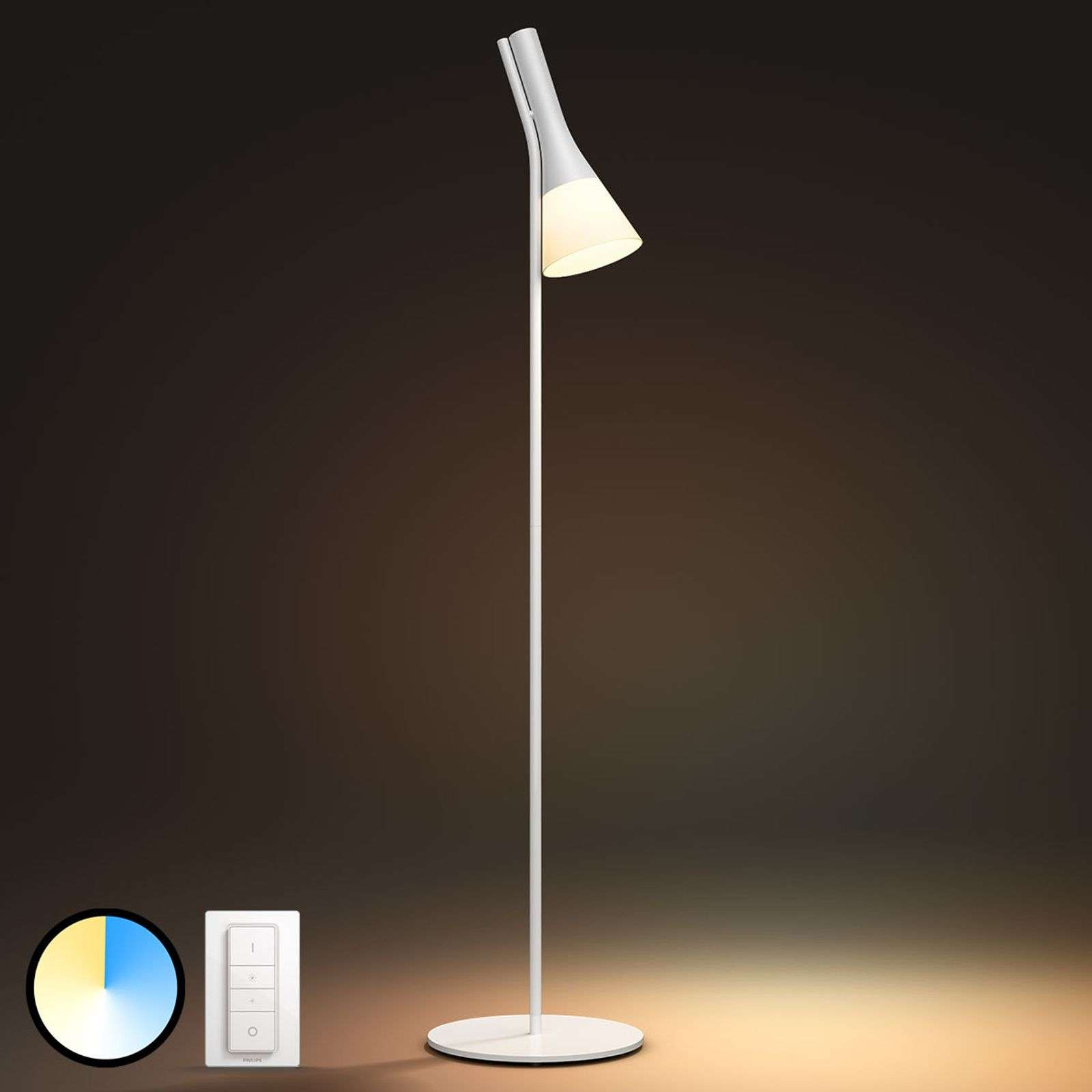 Philips Hue White Ambiance Explore lampadaire